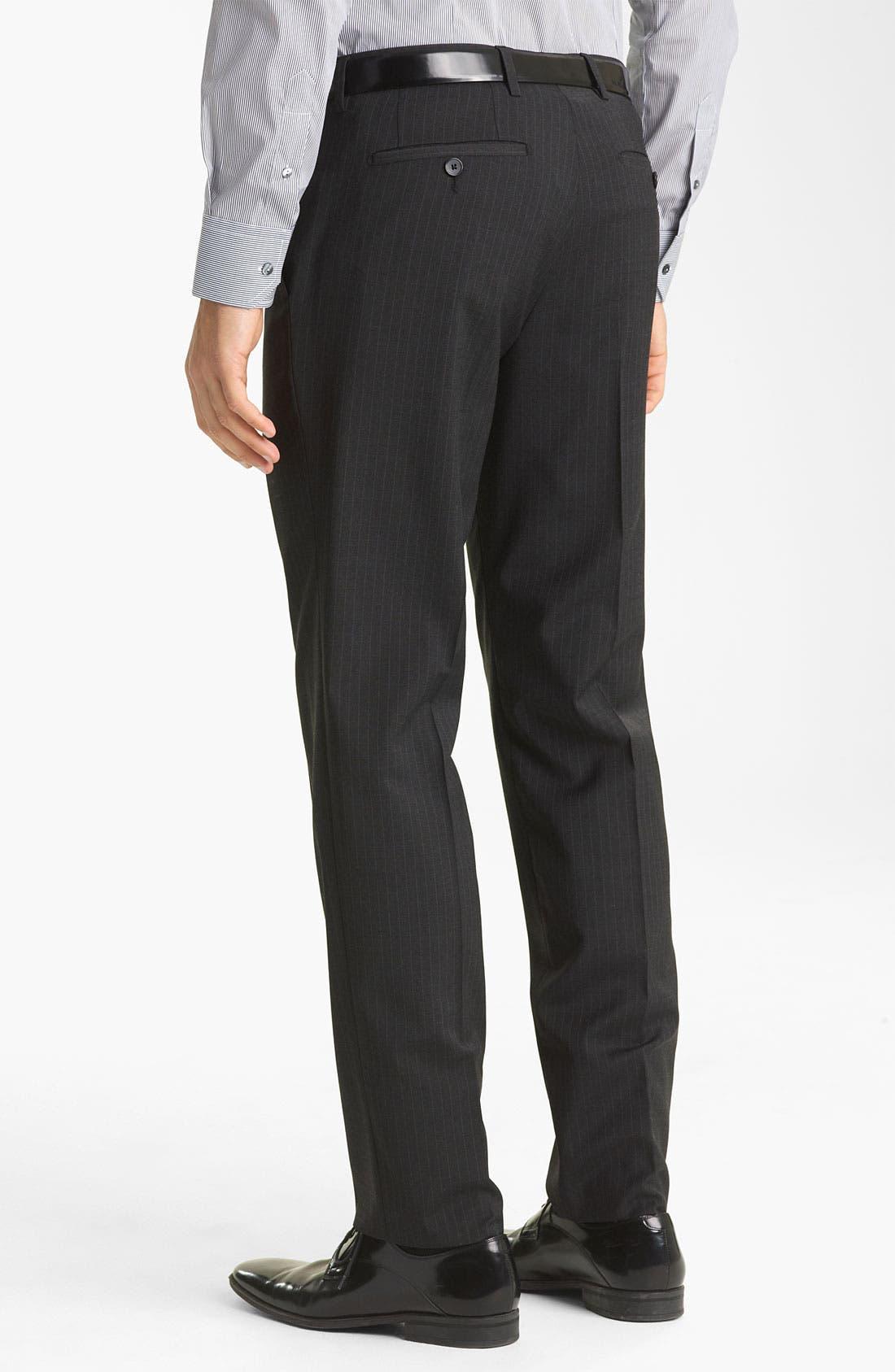 Alternate Image 5  - Dolce&Gabbana Pinstripe Suit