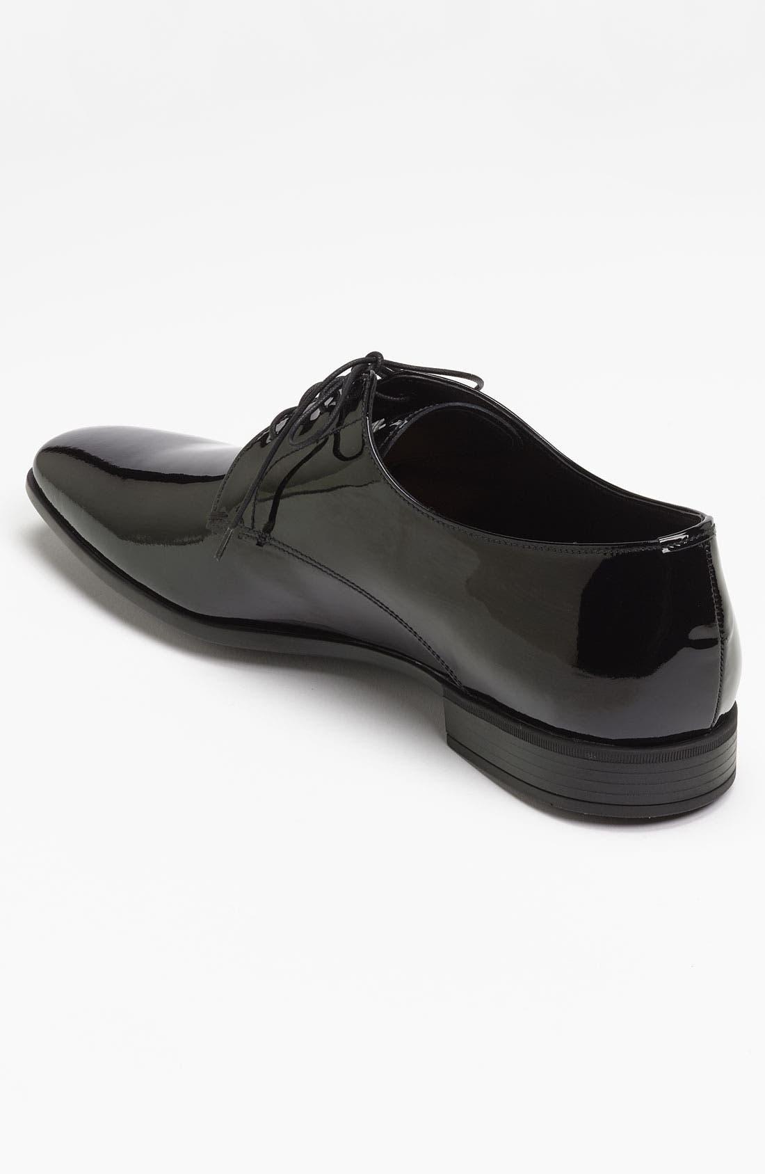 Alternate Image 2  - Prada Plain Toe Patent Derby