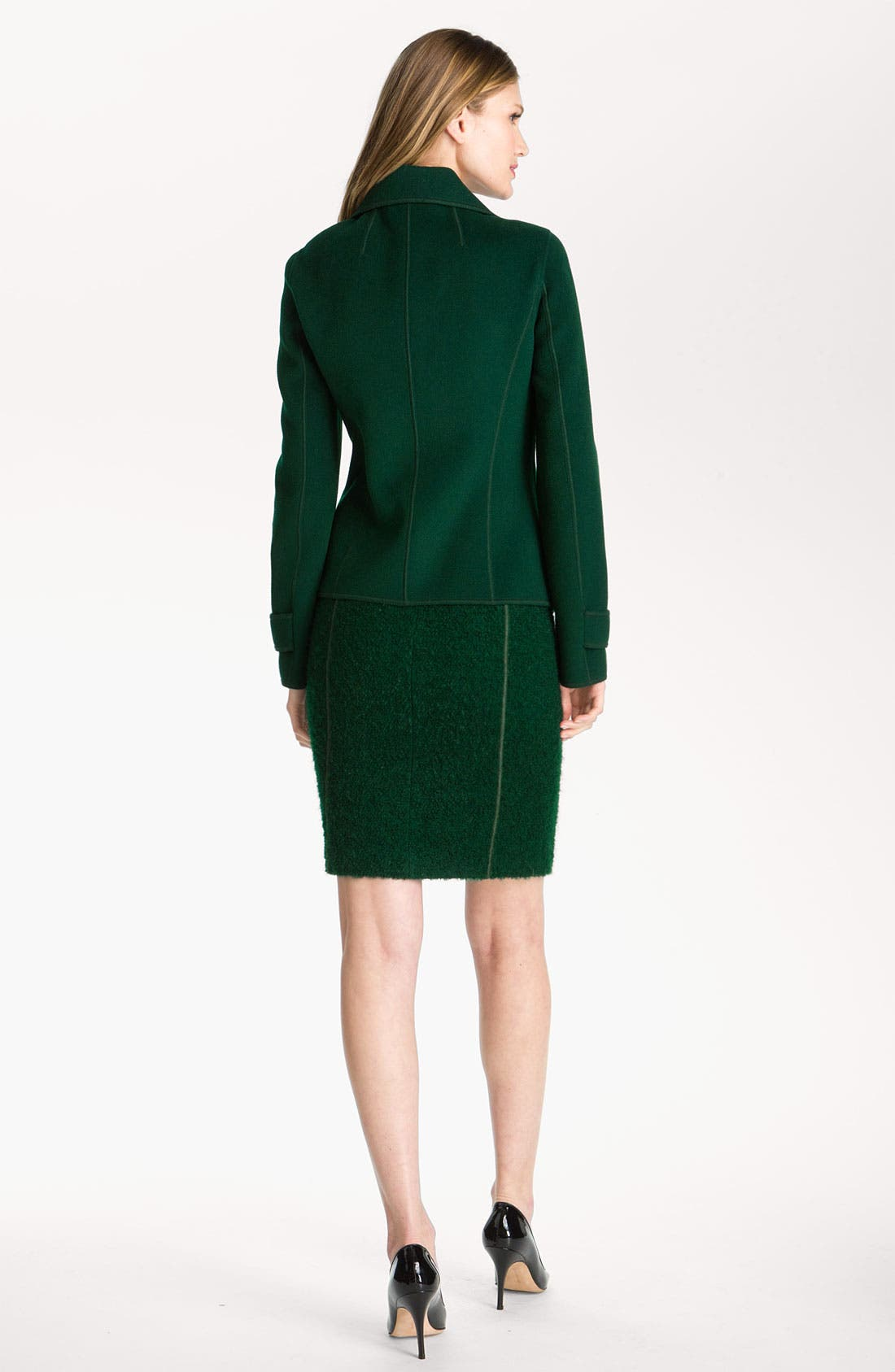Alternate Image 4  - St. John Collection Milano Knit & Boucle Dress