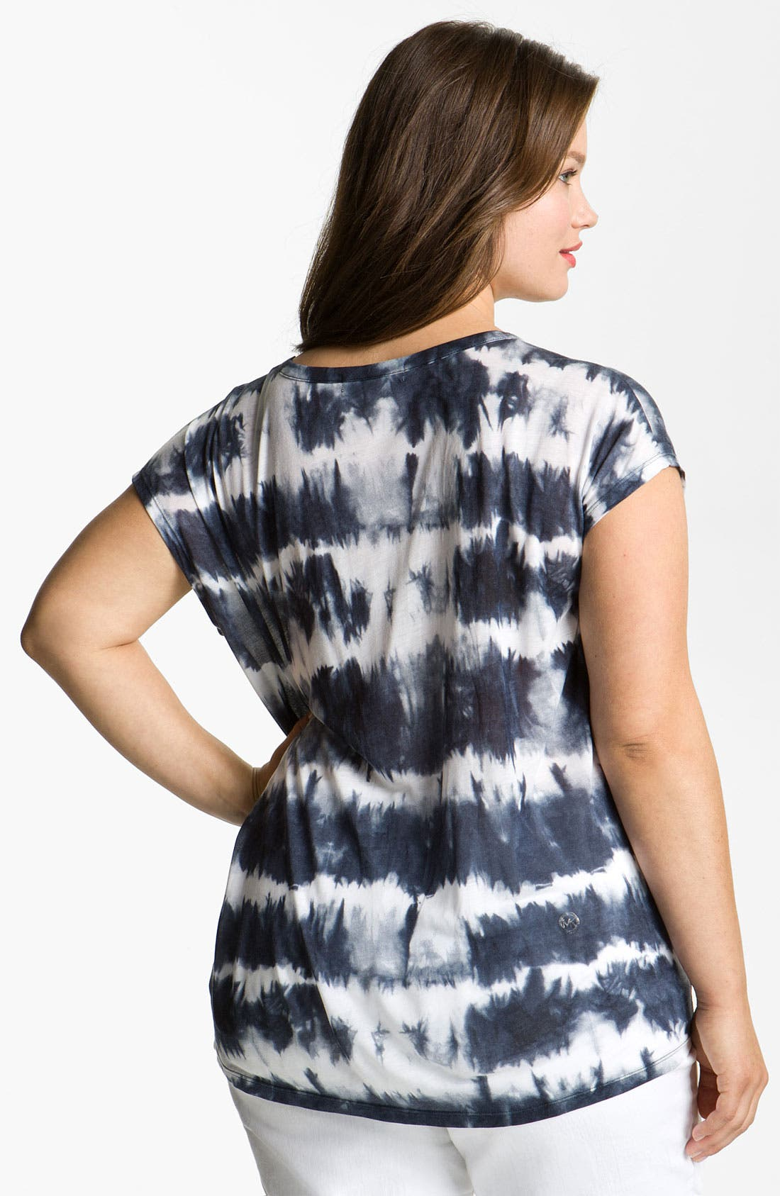 Alternate Image 2  - MICHAEL Michael Kors Tie Dye Top (Plus)