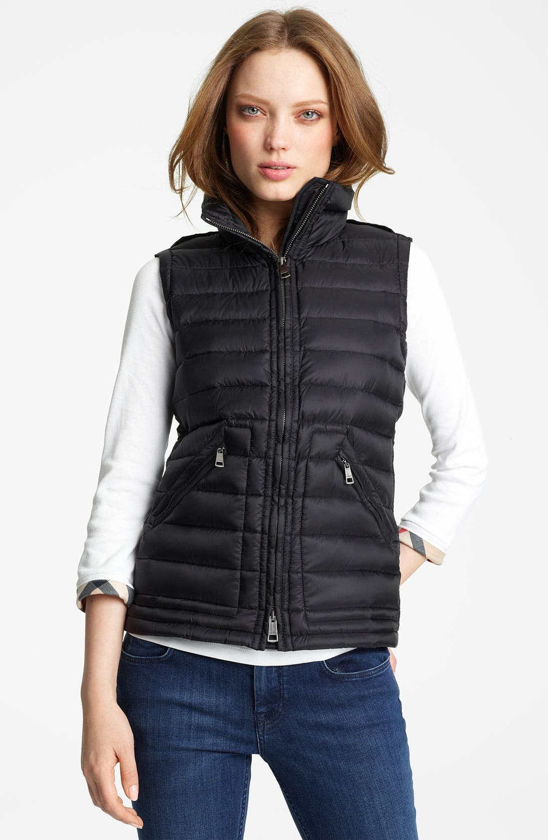 Main Image - Burberry Brit Quilted Down Vest