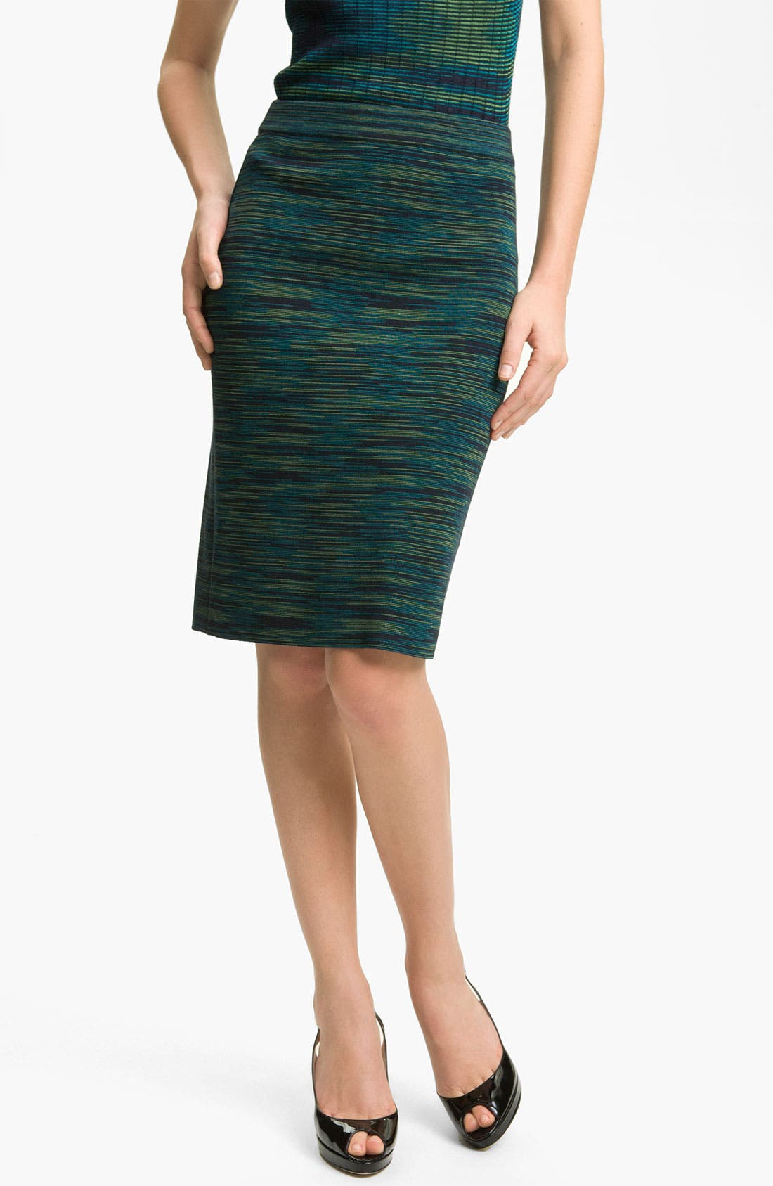 Alternate Image 1 Selected - M Missoni Space Dye Pencil Skirt