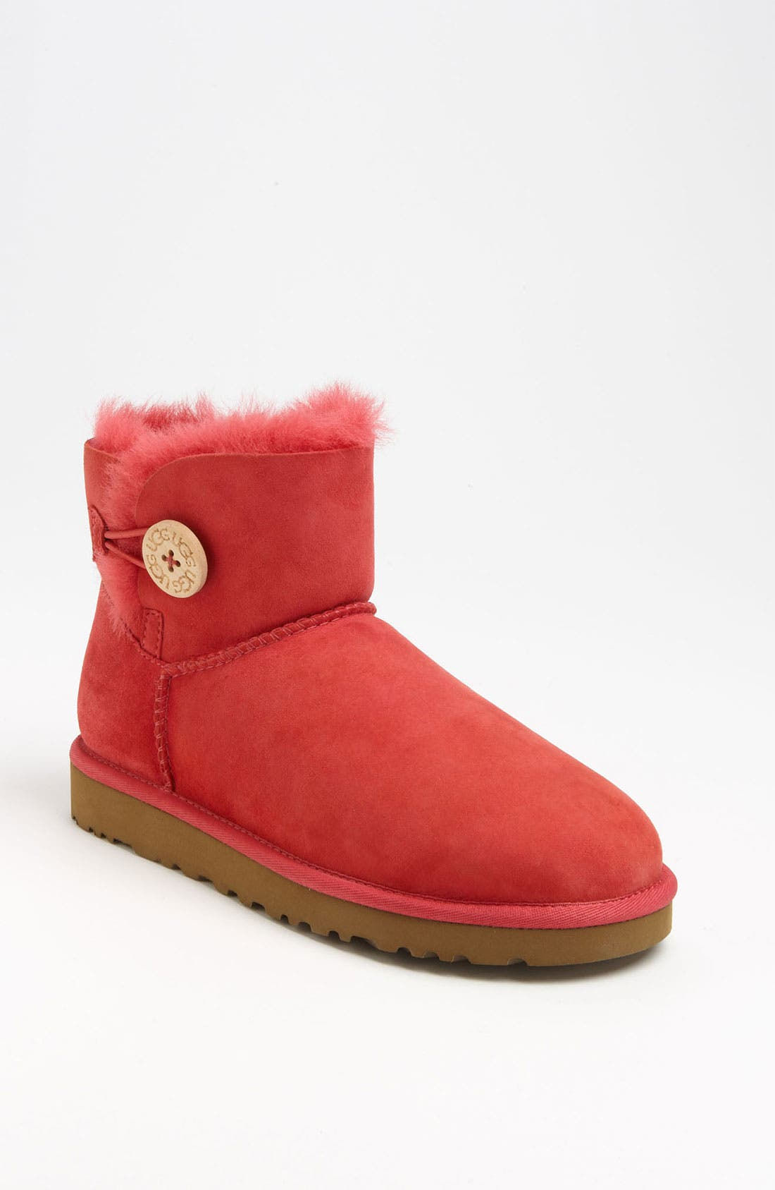 Alternate Image 1 Selected - UGG® 'Mini Bailey Button' Boot (Women)