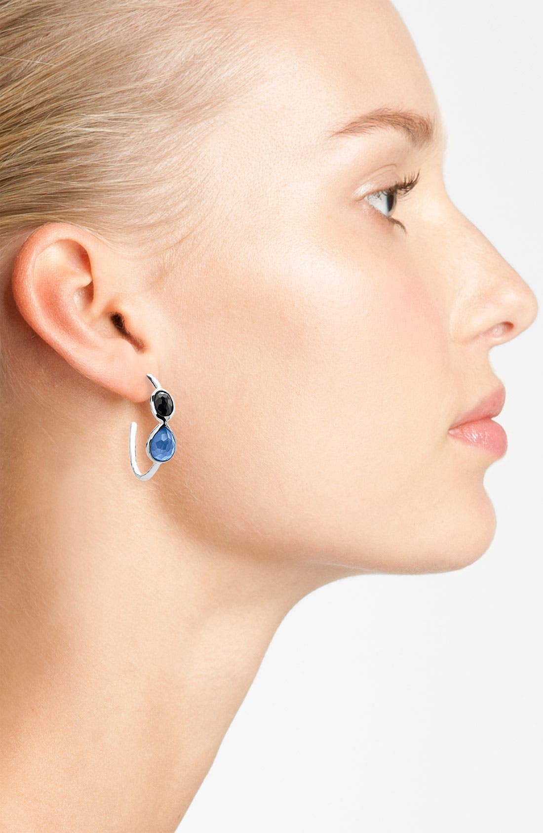 Alternate Image 2  - Ippolita 'Wonderland - Gelato' 2-Stone Hoop Earrings