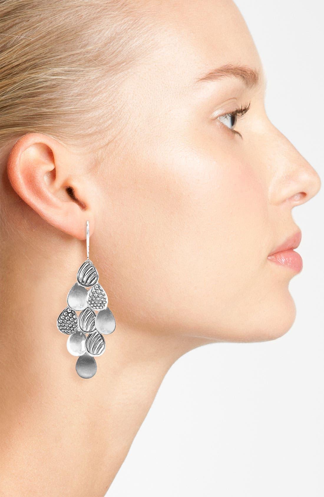 Alternate Image 2  - LAGOS Multi Surface Teardrop Earrings