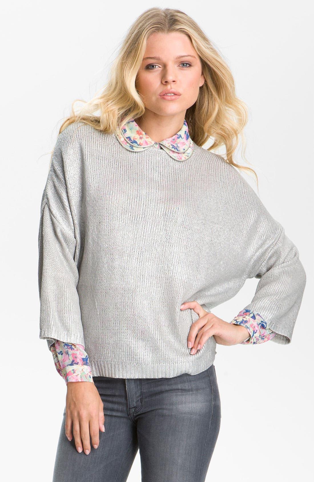 Alternate Image 1 Selected - Remain Metallic Sweater