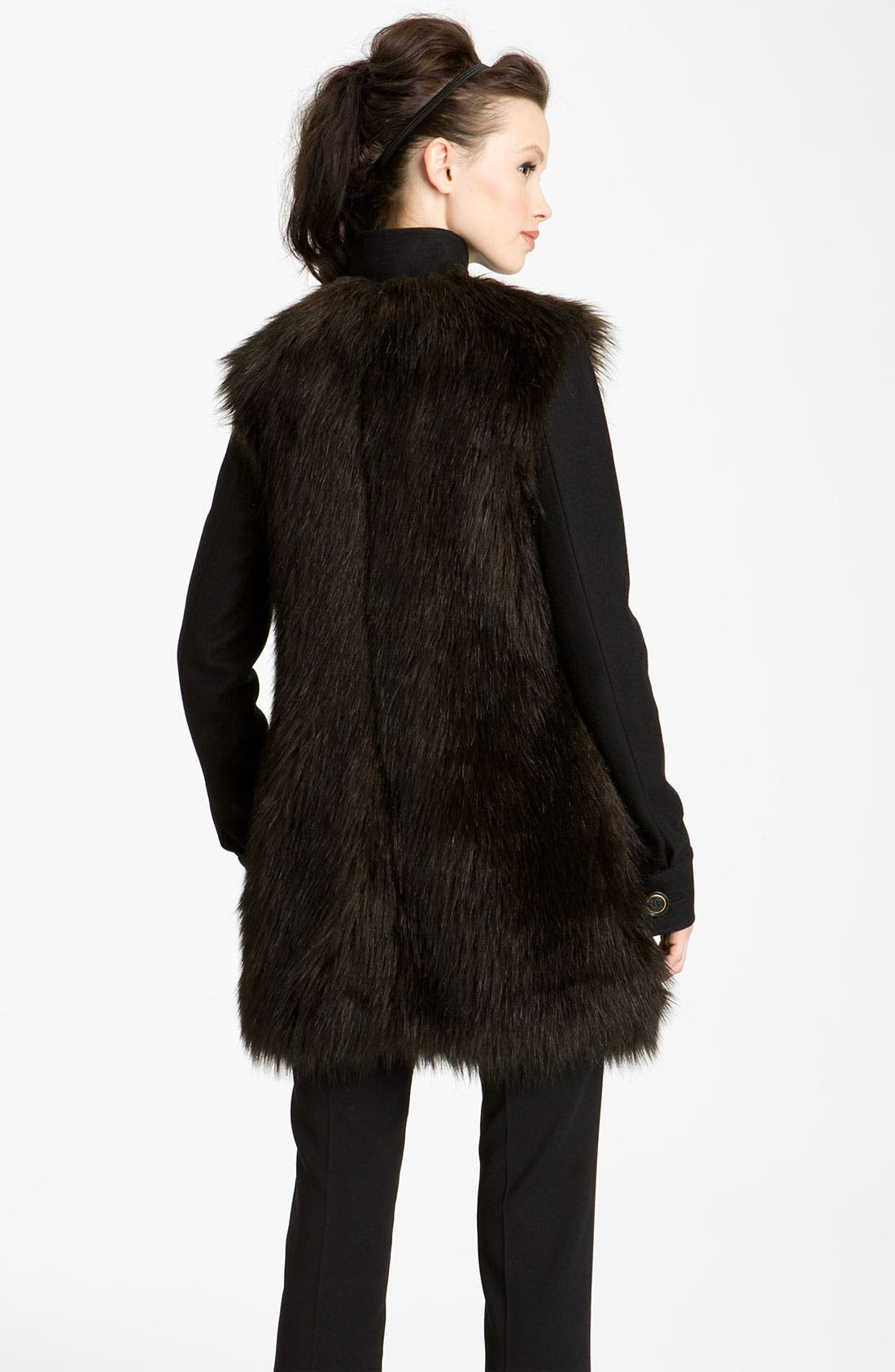 Alternate Image 2  - Rachel Zoe 'Marianna' Faux Fur Jacket