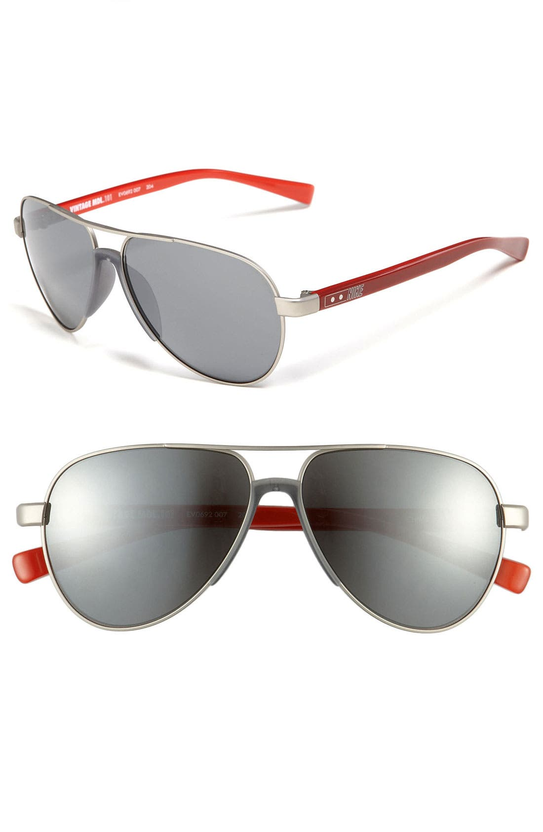 Alternate Image 1 Selected - Nike Aviator Sunglasses