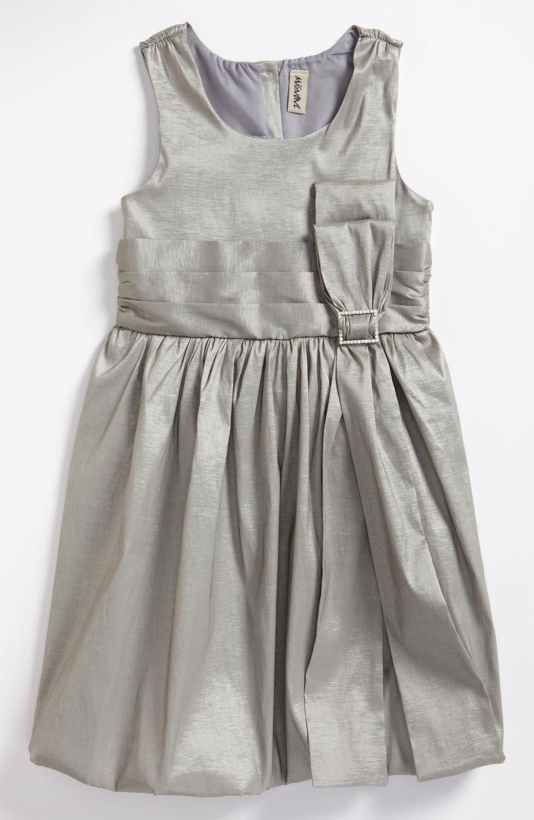 Alternate Image 1 Selected - Mignone Taffeta Dress (Little Girls & Big Girls)
