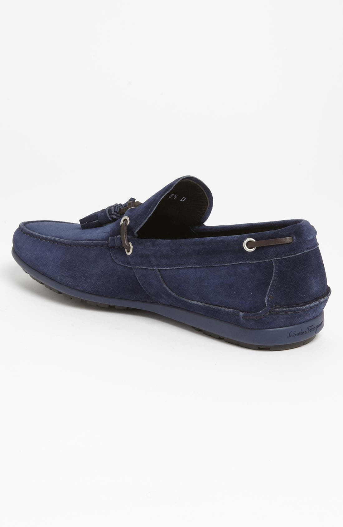 Alternate Image 2  - Salvatore Ferragamo 'Amos 3' Tassel Driving Shoe