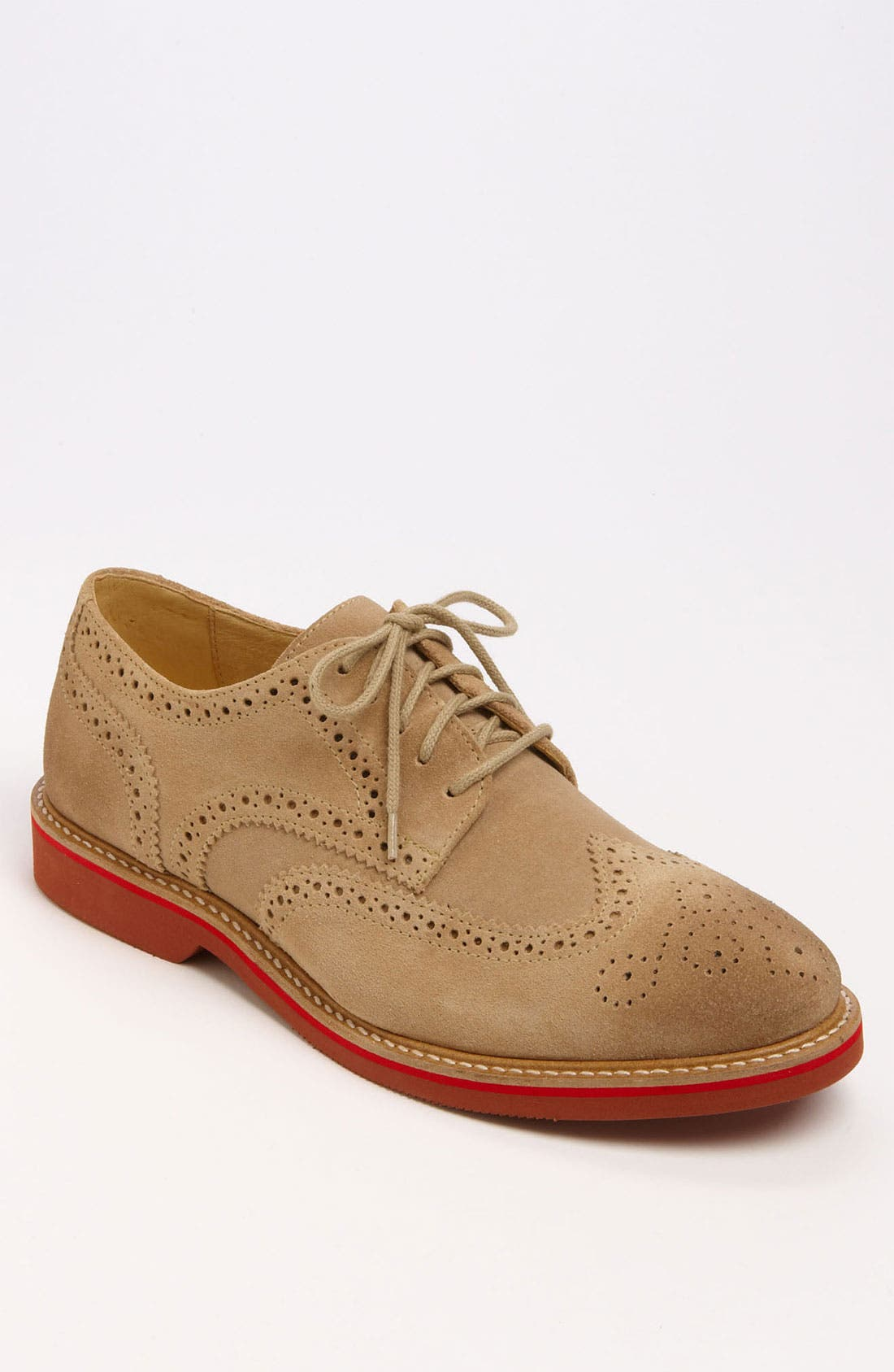 Alternate Image 1 Selected - 1901 'Wing It' Suede Oxford