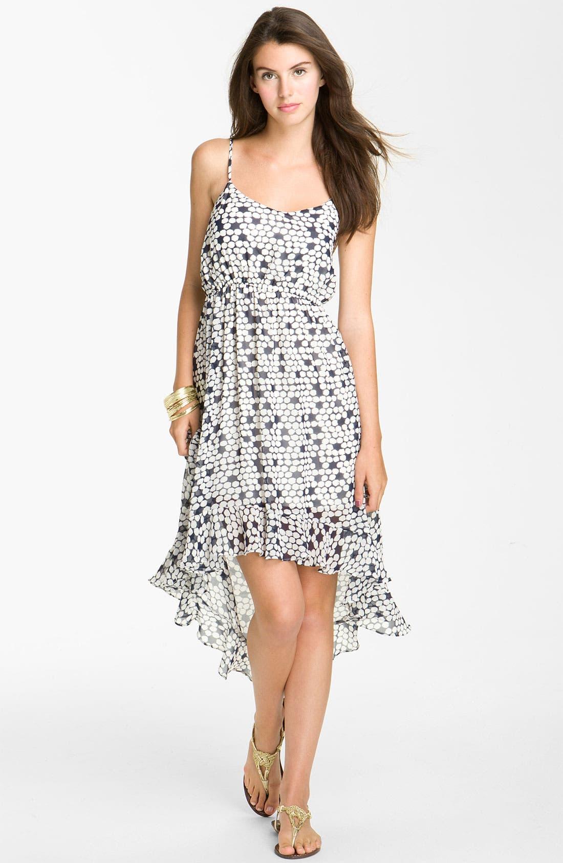 Alternate Image 1 Selected - Leola Couture Chiffon Midi Dress
