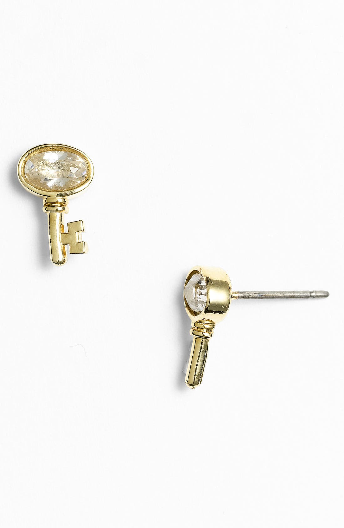 Alternate Image 1 Selected - Juicy Couture 'Key to the Castle' Stud Earrings