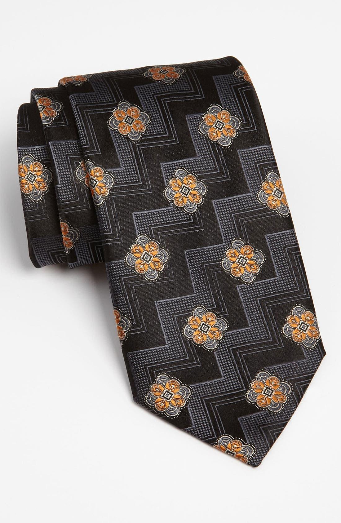 Main Image - Canali Woven Silk Tie