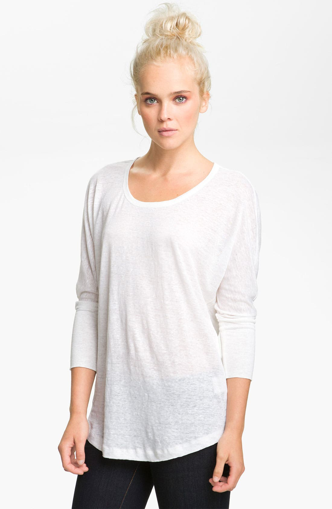 Alternate Image 1 Selected - Joie 'Ashlee' Linen Top