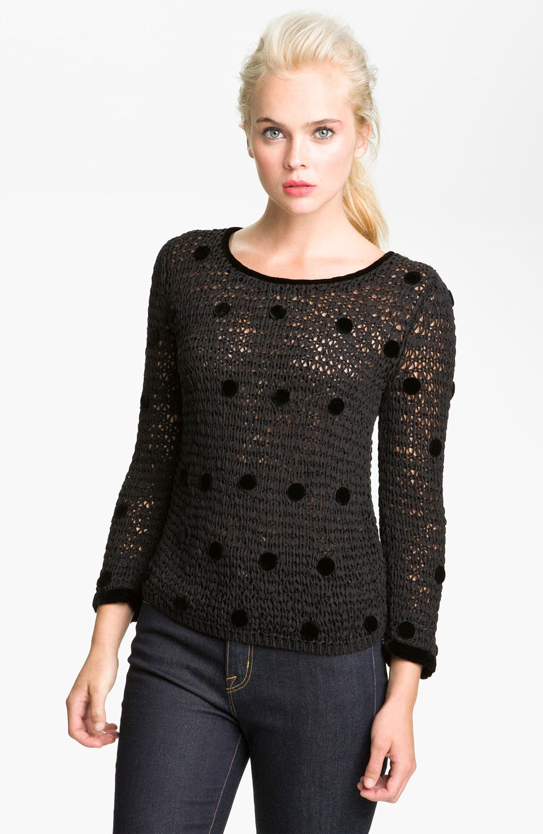 Alternate Image 1 Selected - MARC BY MARC JACOBS 'Koyla' Polka Dot Sweater