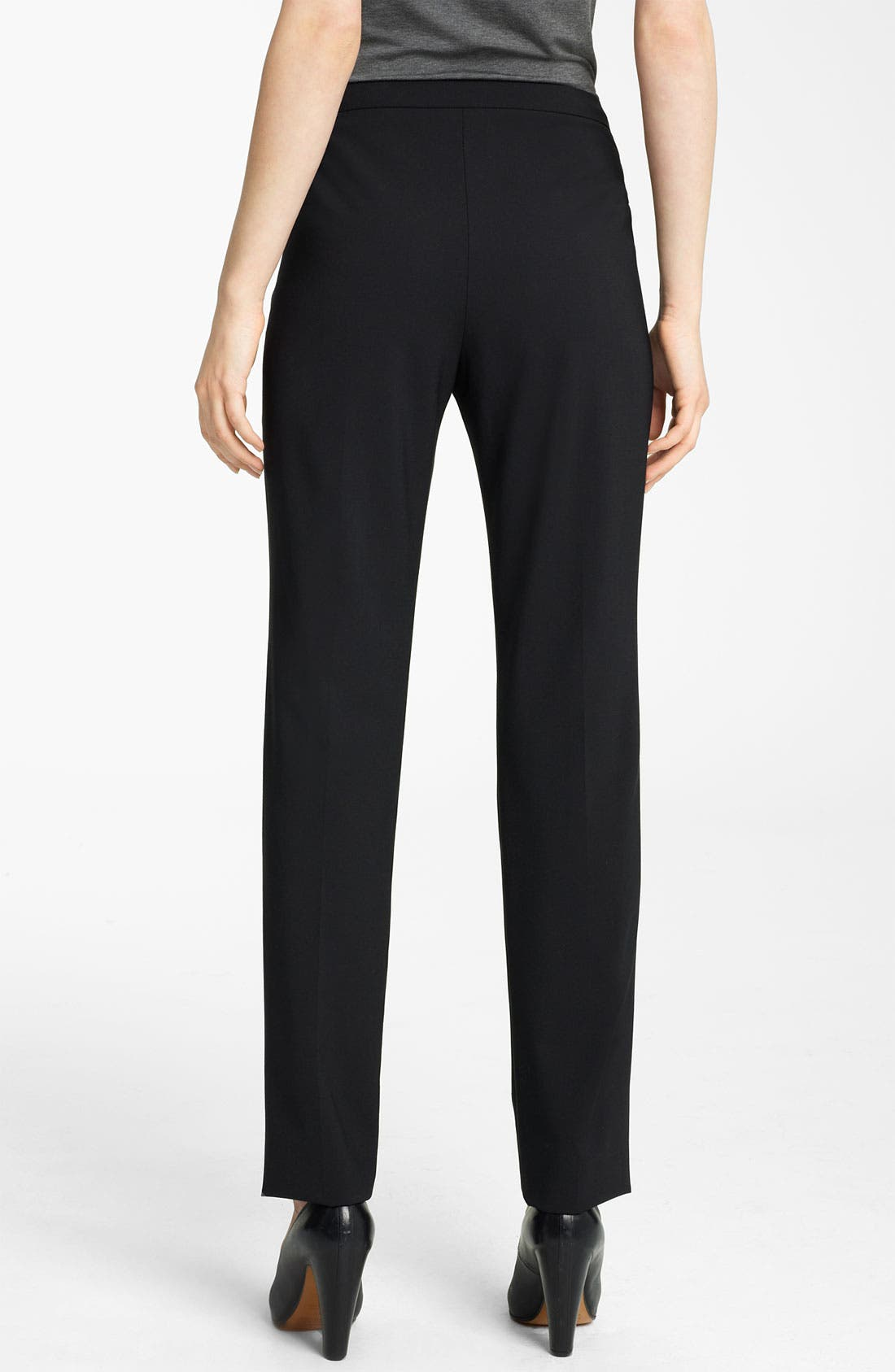 Alternate Image 2  - Lida Baday Slim Stretch Wool Pants