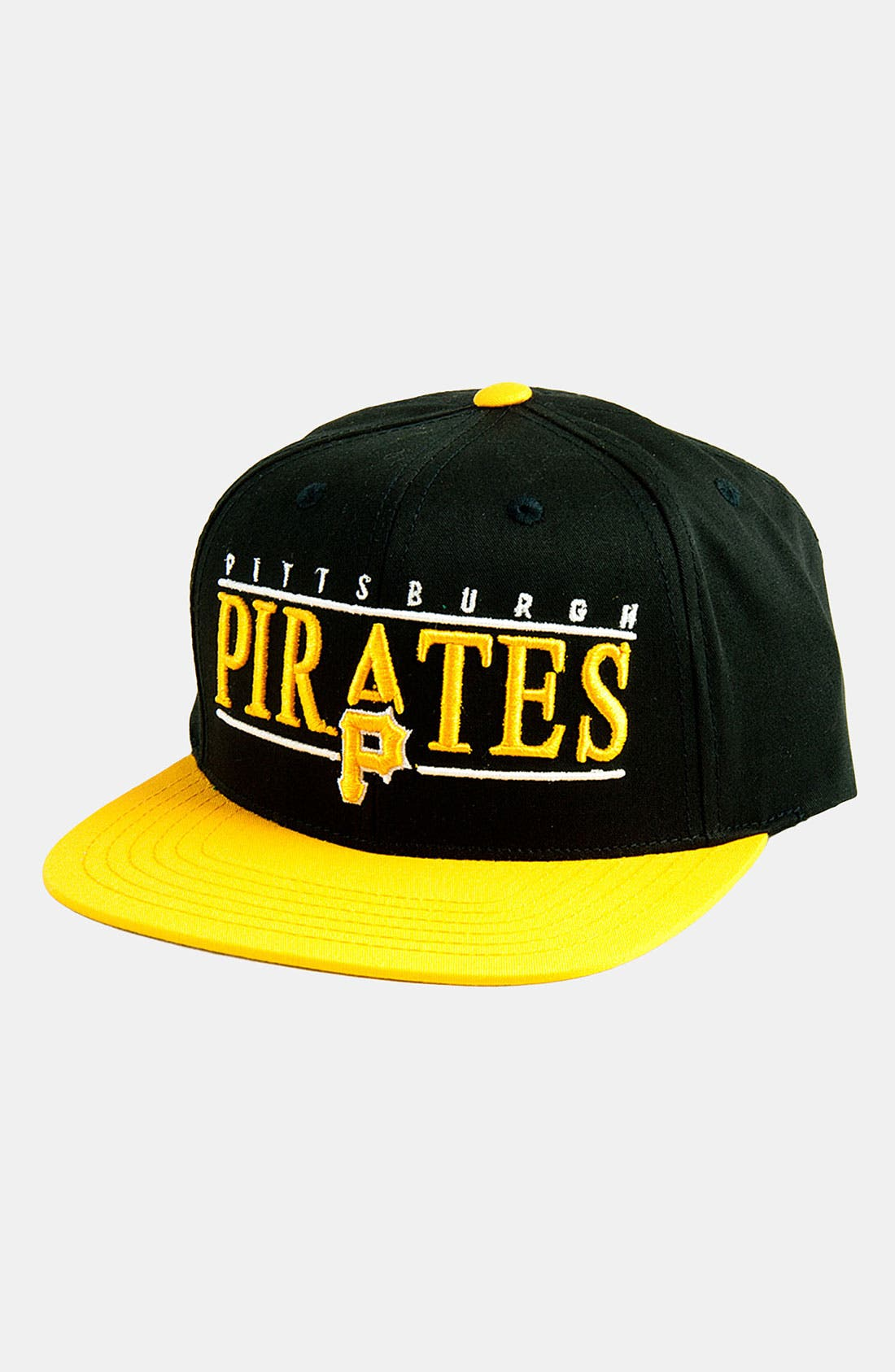 Alternate Image 1 Selected - American Needle 'Pittsburgh Pirates - Nineties' Twill Snapback Baseball Cap