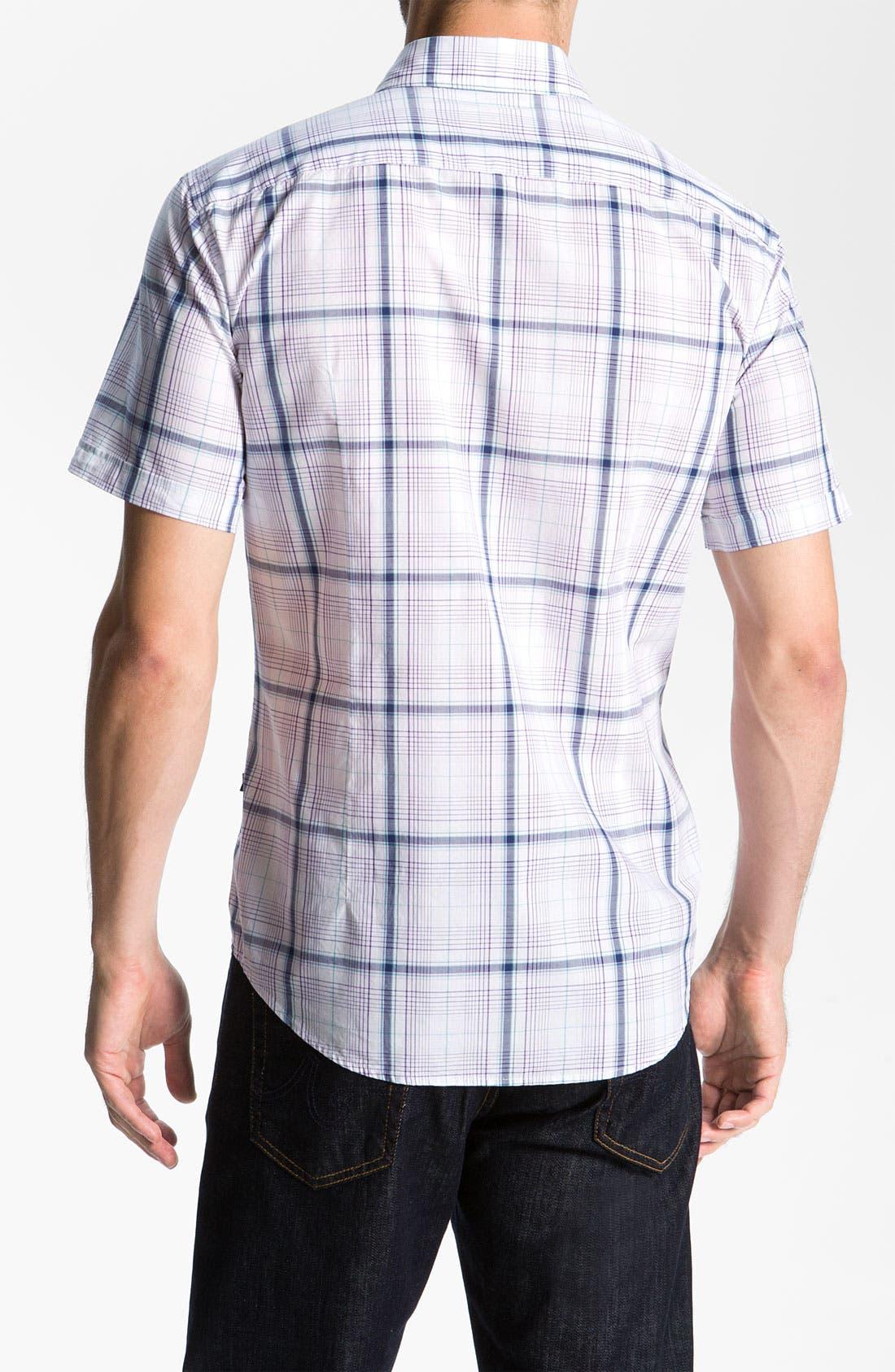 Alternate Image 2  - BOSS Black 'Marc 2' Slim Fit Sport Shirt