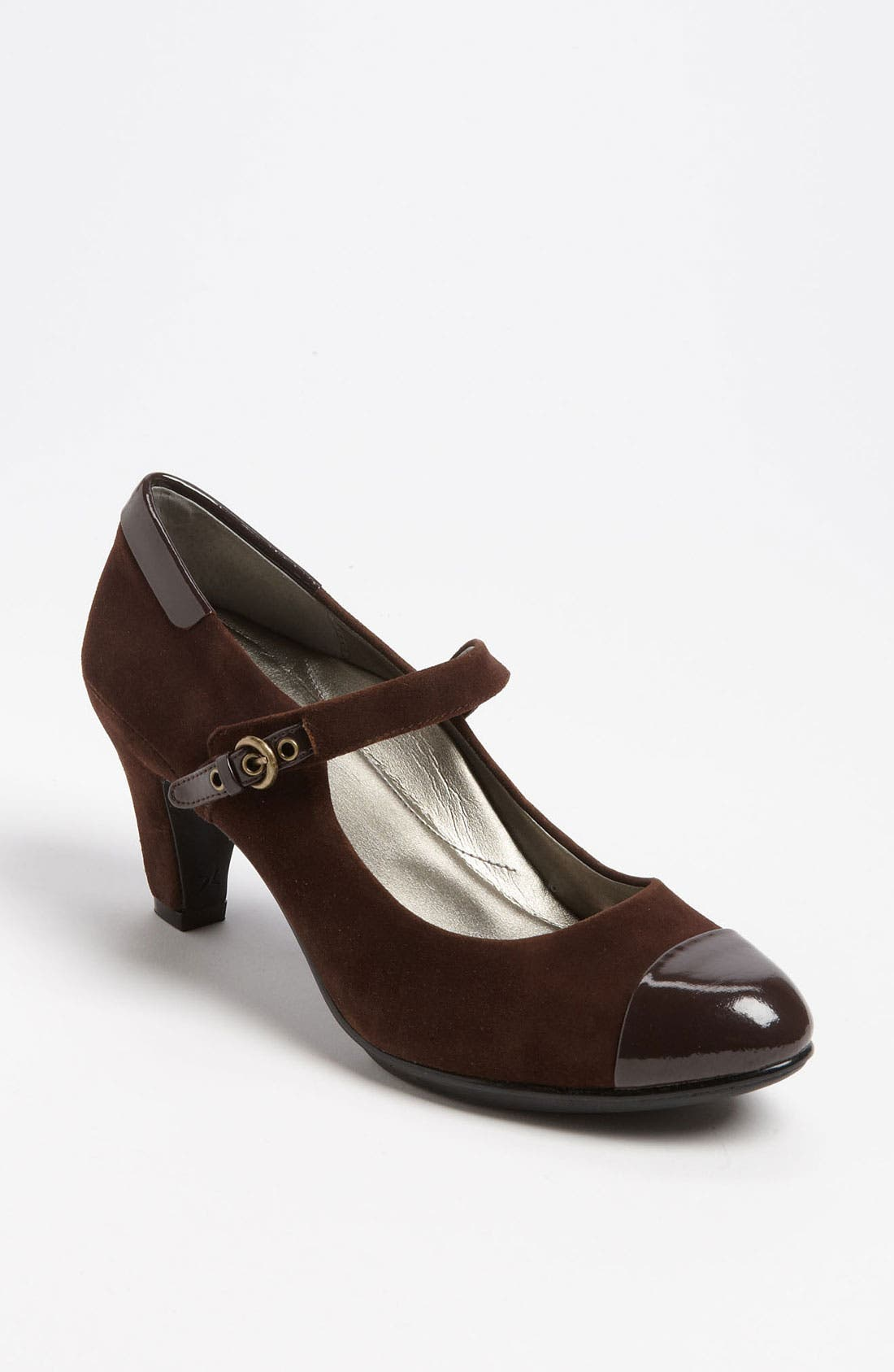 Alternate Image 1 Selected - Aetrex 'Taylor' Mary Jane Pump
