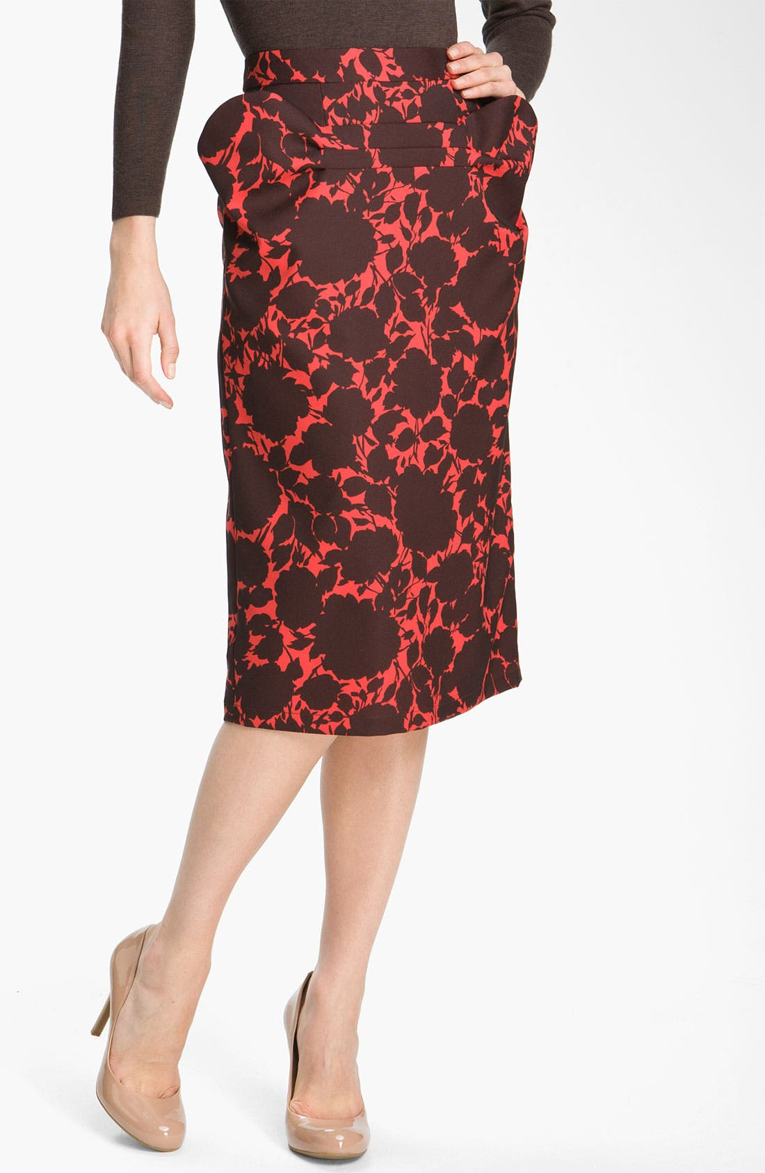 Alternate Image 1 Selected - MARC BY MARC JACOBS 'Clarice' Floral Skirt