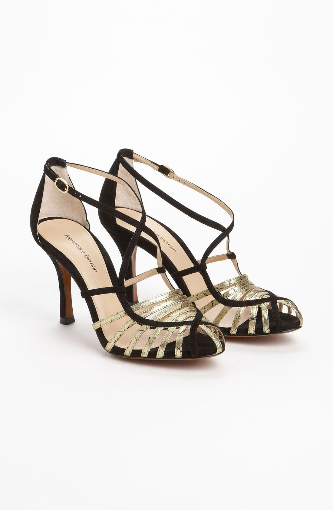 Alternate Image 4  - Alexandre Birman Genuine Python Strap Sandal (Exclusive Color)