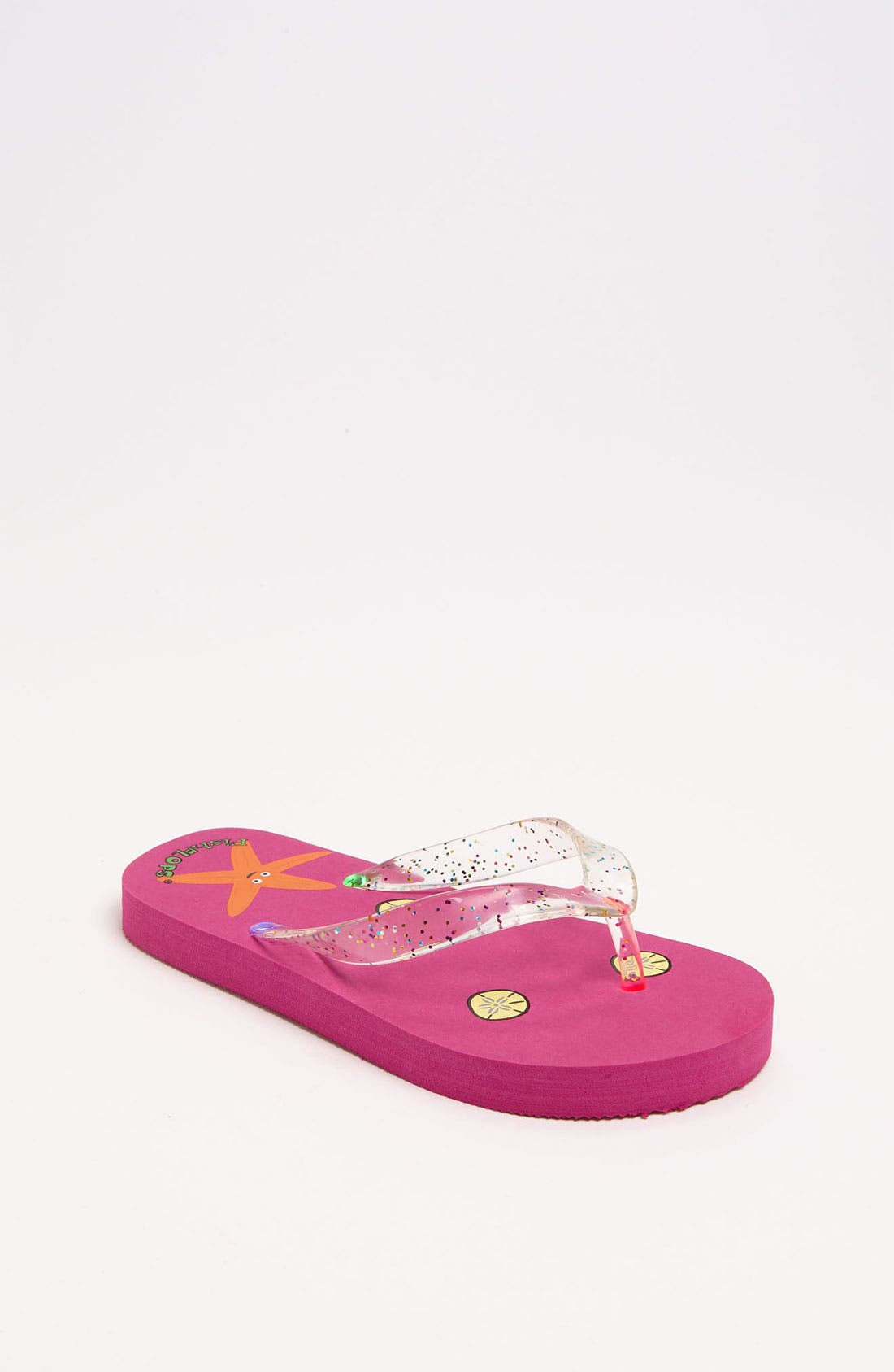 Alternate Image 1 Selected - Fish Flops 'Starfish Lights' Flip Flops (Toddler & Little Kid)