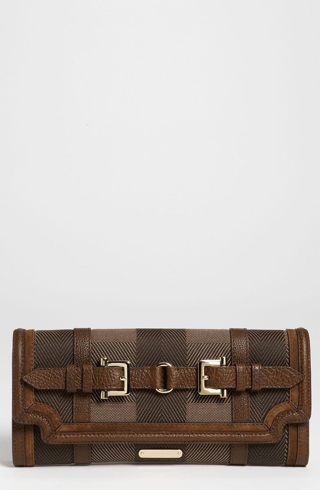 Alternate Image 1 Selected - Burberry Canvas Jacquard Clutch