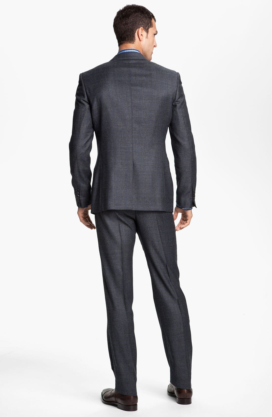 Alternate Image 3  - Paul Smith London Grid Print Wool Suit