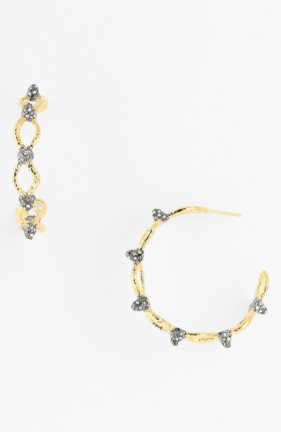 Alternate Image 1 Selected - Alexis Bittar 'Elements - Siyabona' Spiked Woven Hoop Earrings