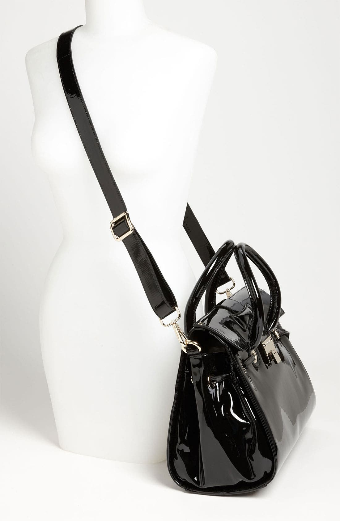 Alternate Image 2  - Jimmy Choo 'Rosalie' Patent Leather Satchel