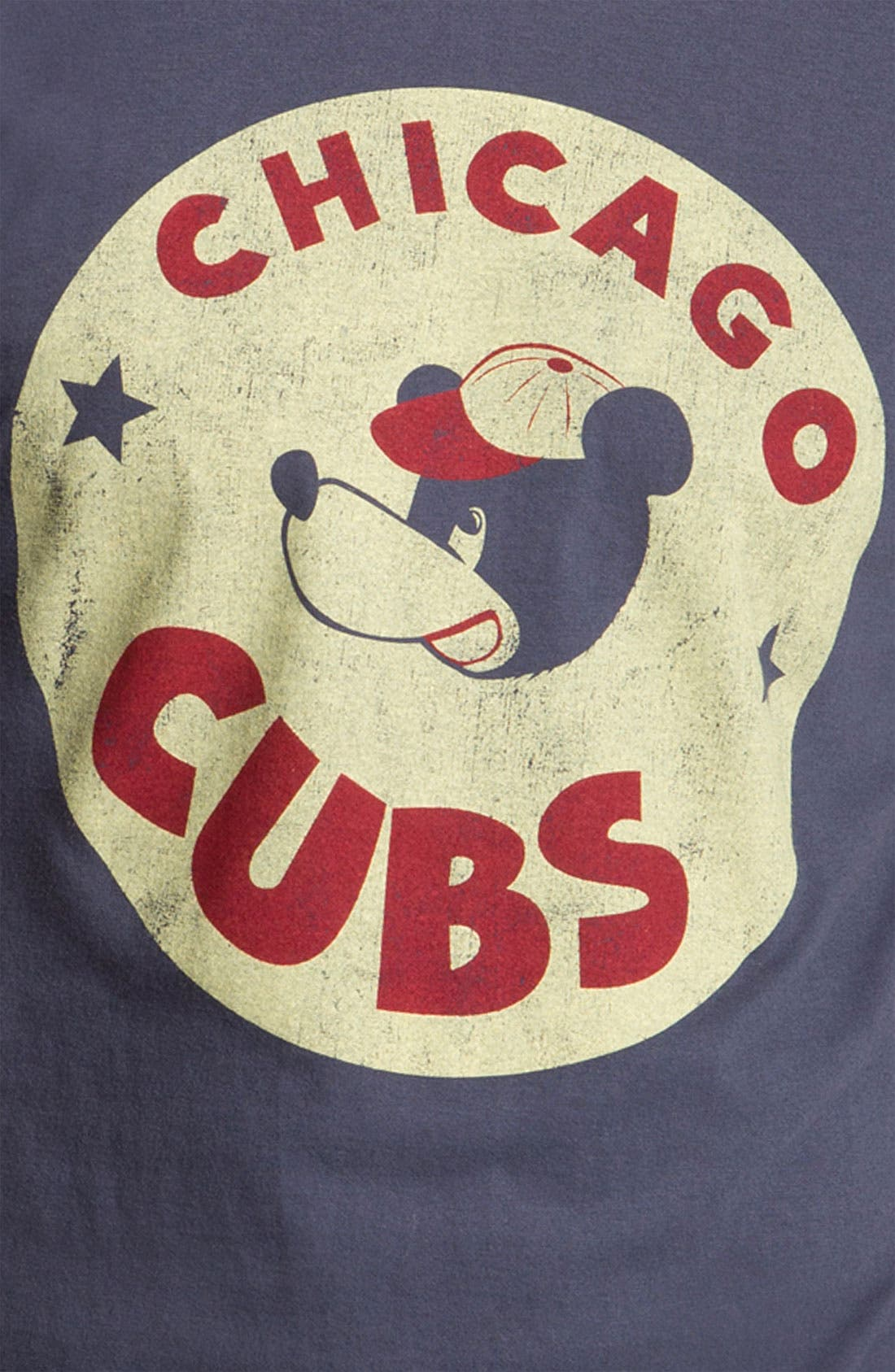 Alternate Image 3  - Wright & Ditson 'Chicago Cubs' Baseball T-Shirt
