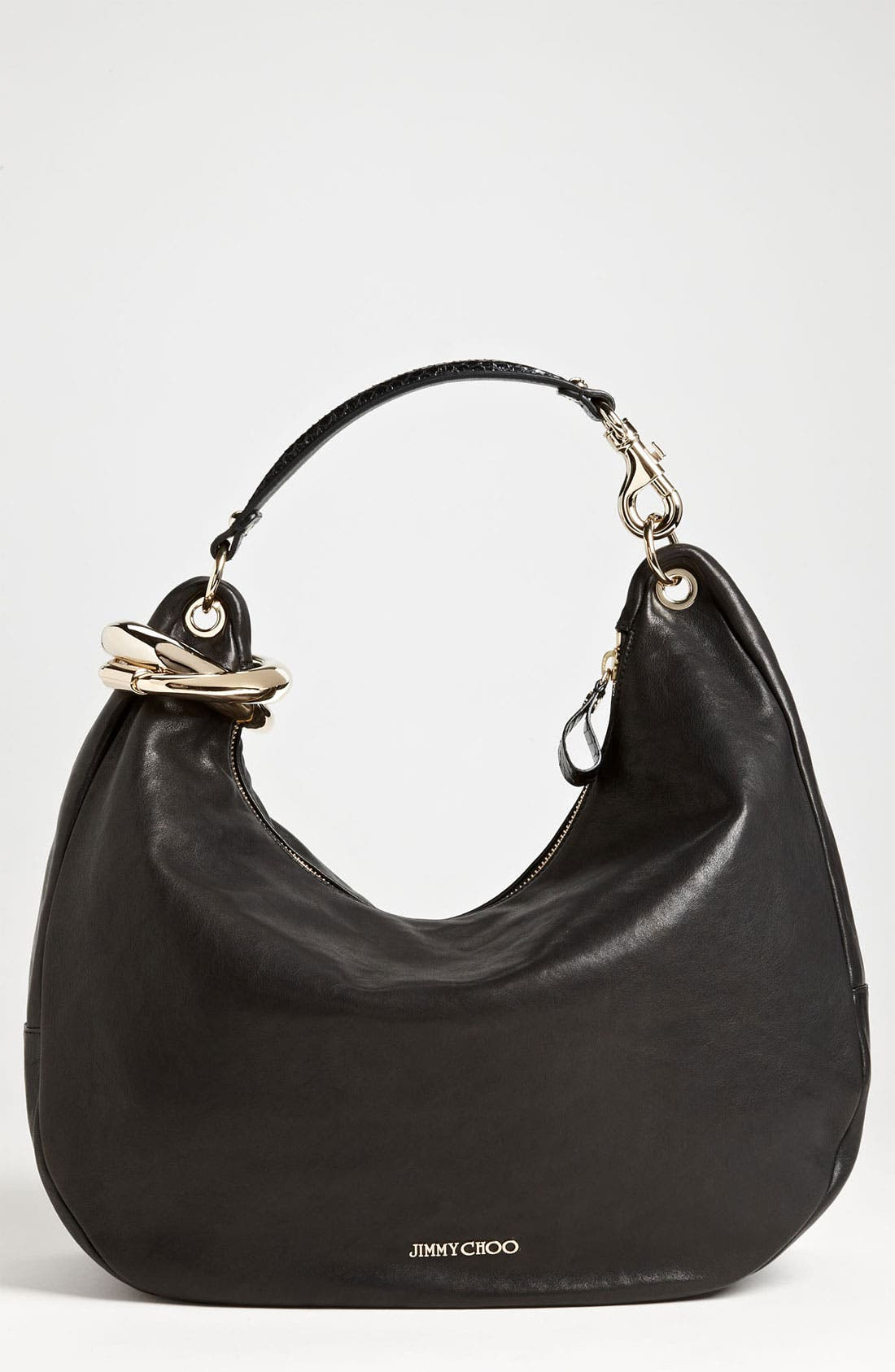 Alternate Image 1 Selected - Jimmy Choo 'Large Solar Calf' Leather Hobo