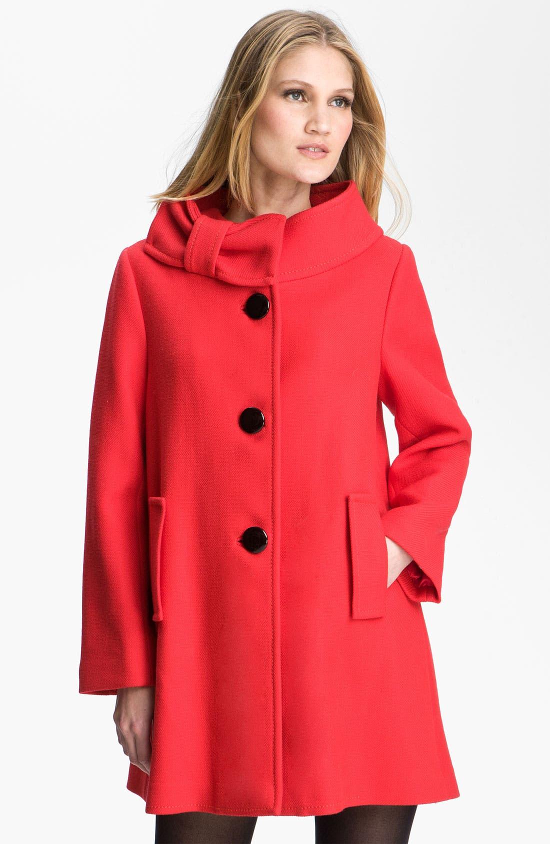Alternate Image 1 Selected - kate spade new york 'suzette' coat