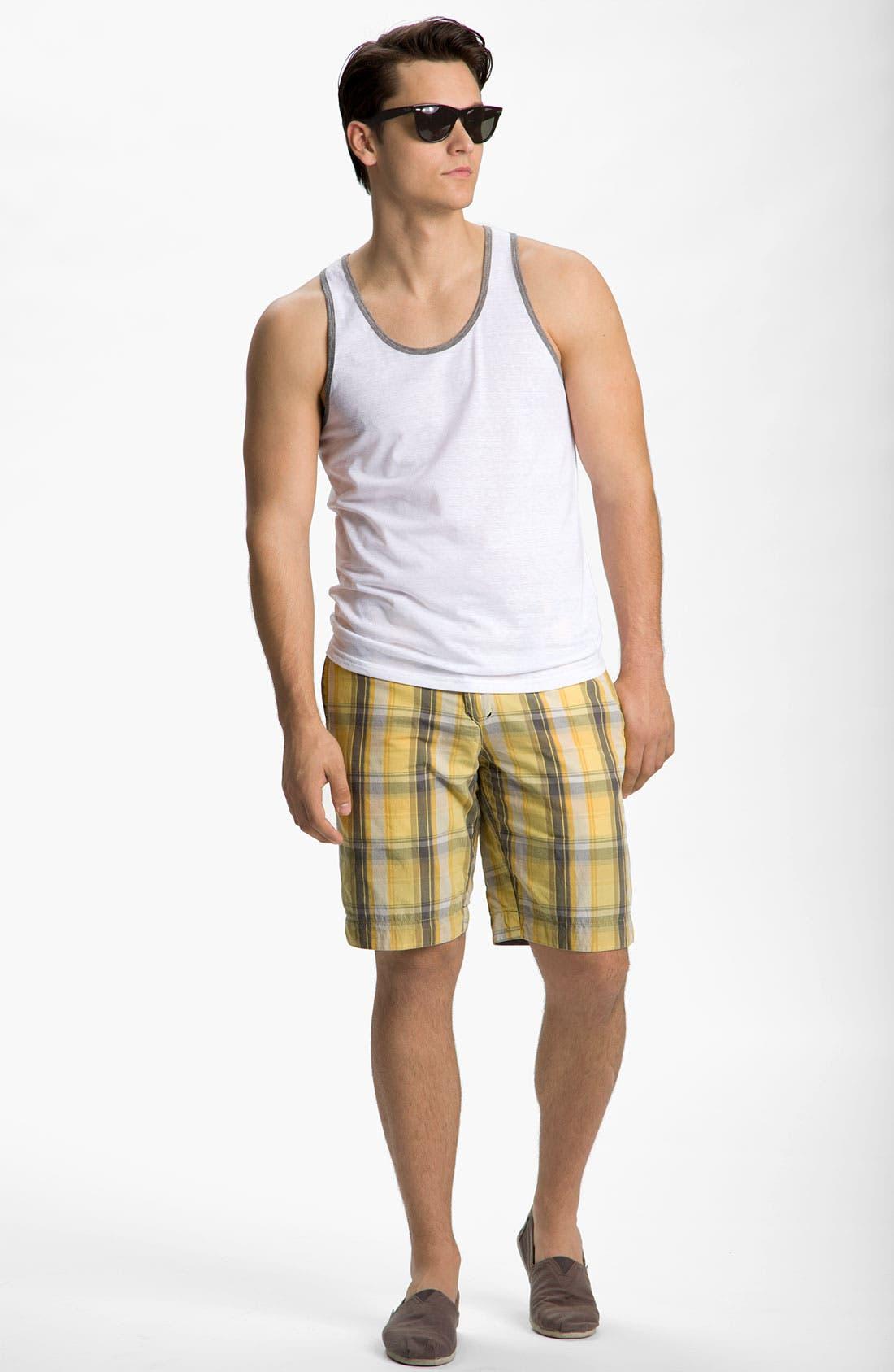 Alternate Image 7  - life/after/denim 'The Tourist' Reversible Shorts