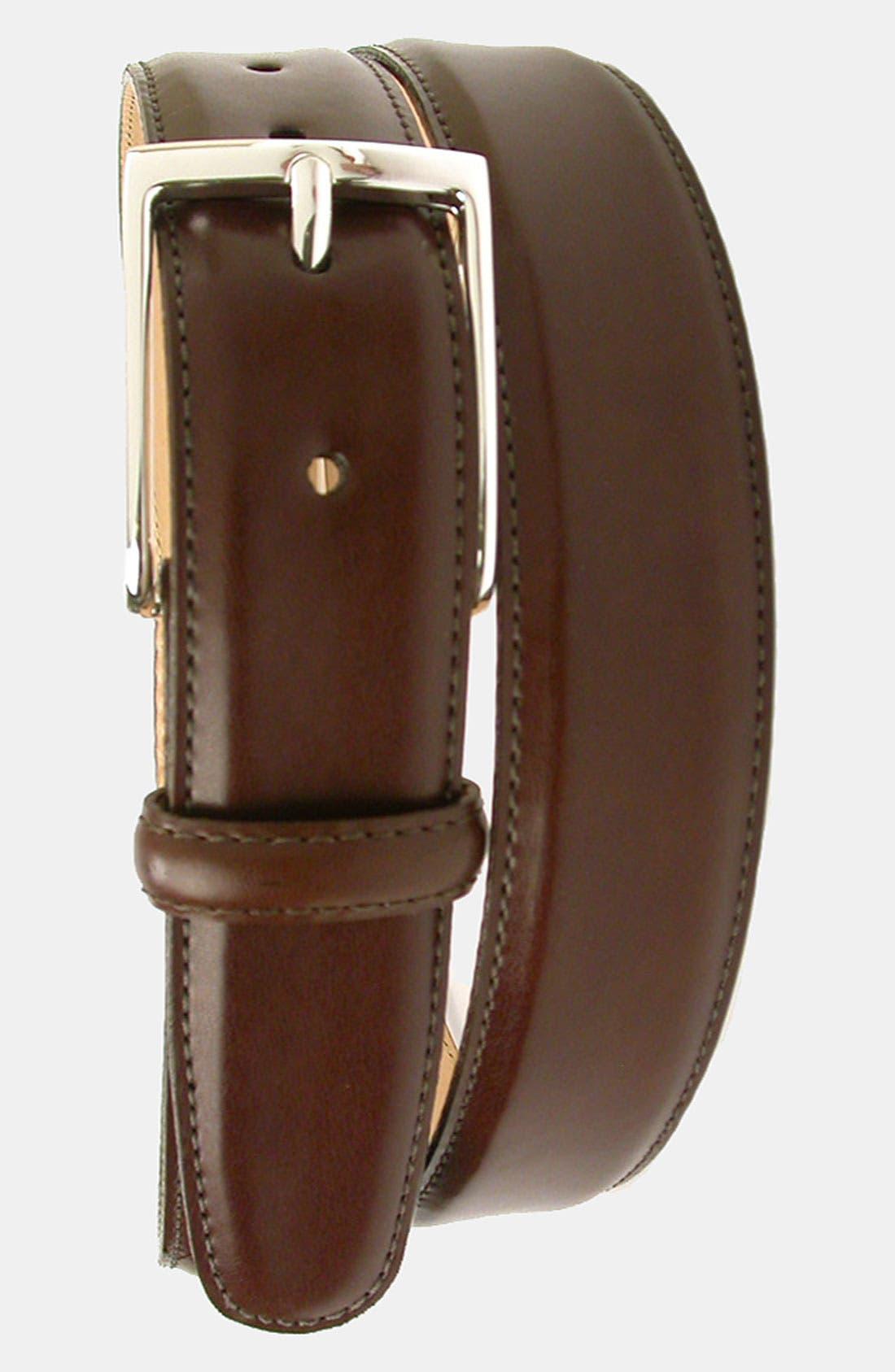 Alternate Image 1 Selected - Martin Dingman 'Smith' Leather Belt