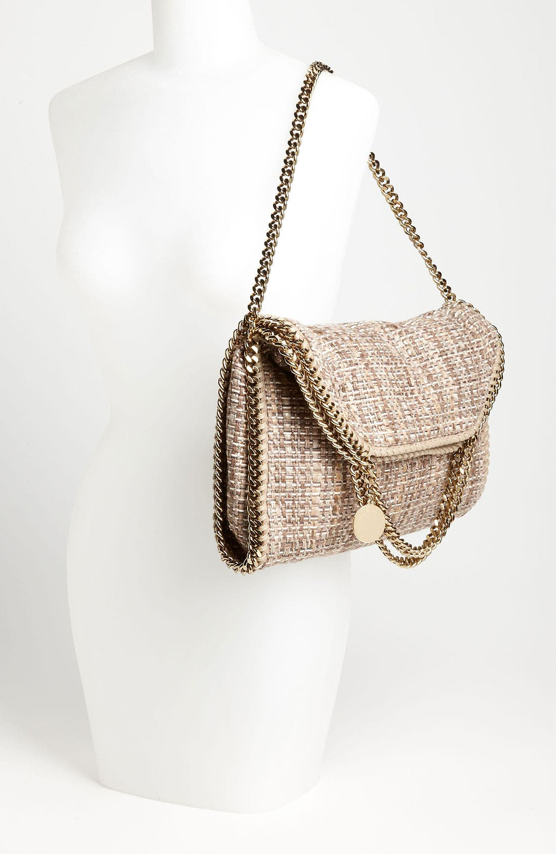 Alternate Image 2  - Stella McCartney 'Falabella' Metallic Bouclé Foldover Tote