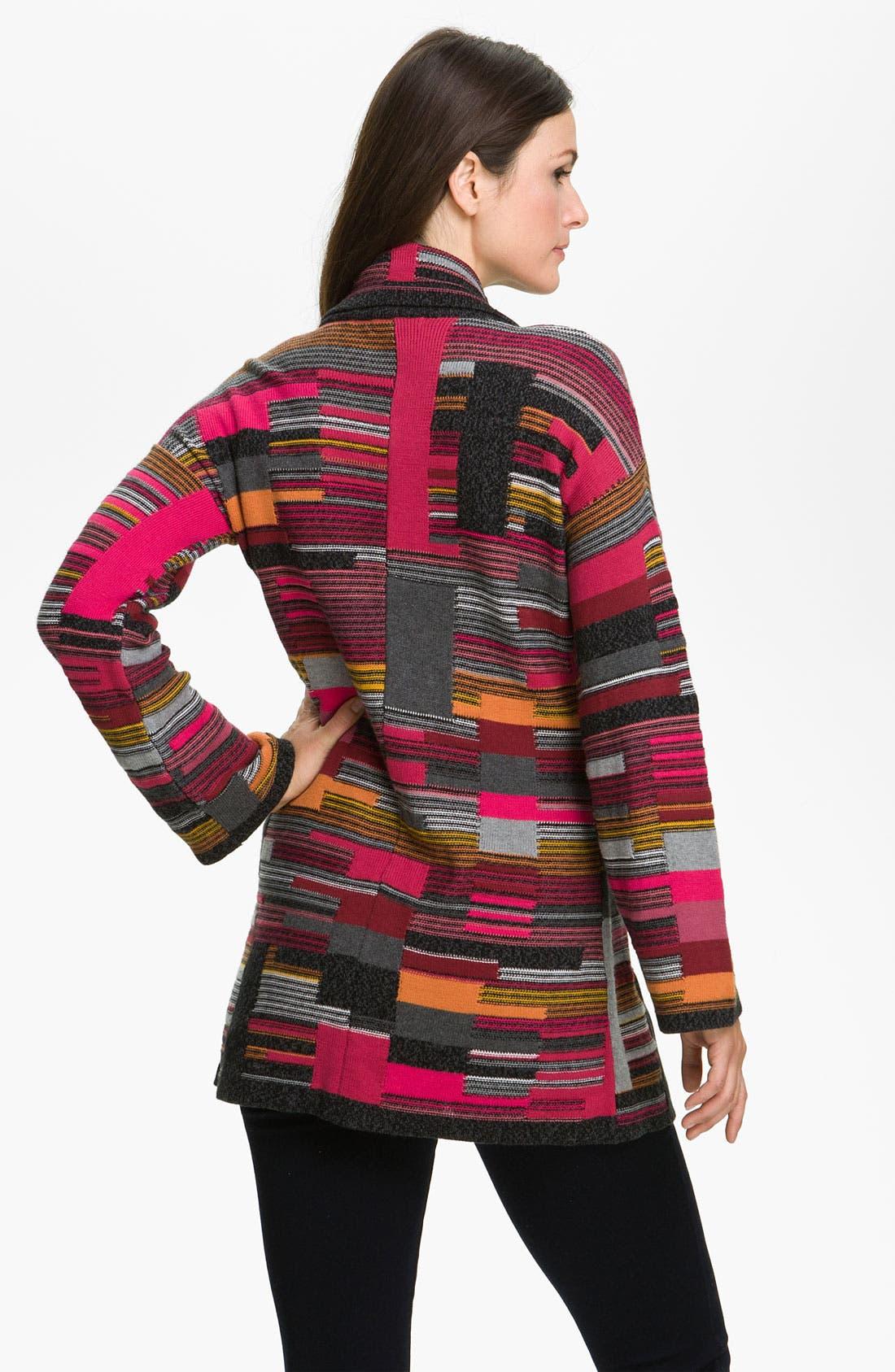 Alternate Image 2  - Nic + Zoe 'Puzzle' Knit Jacket