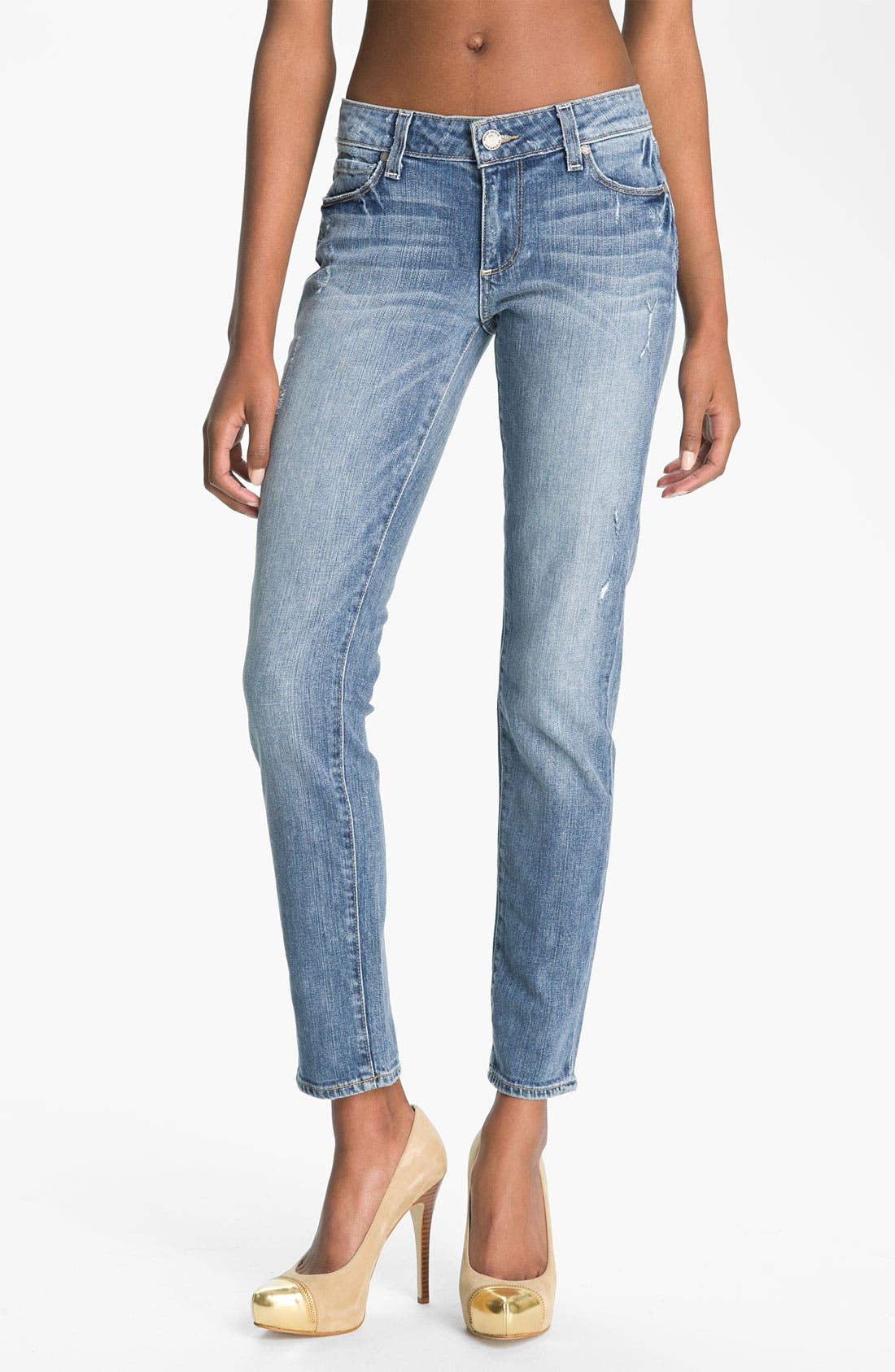 Main Image - Paige Denim 'Skyline - Ankle Peg' Skinny Stretch Jeans (Beachwood)