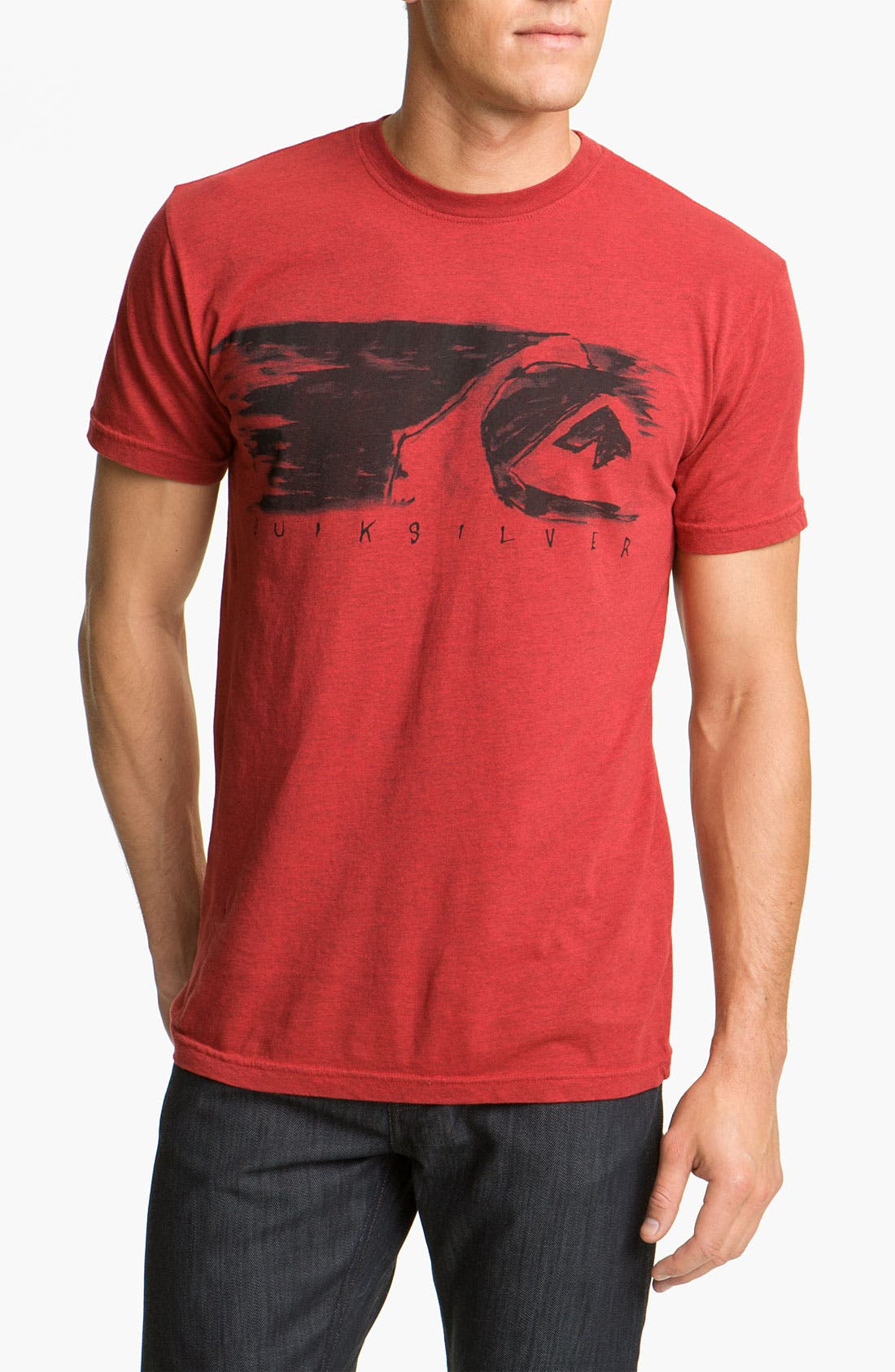 Alternate Image 1 Selected - Quiksilver 'Lead Pill' Slim Fit T-Shirt