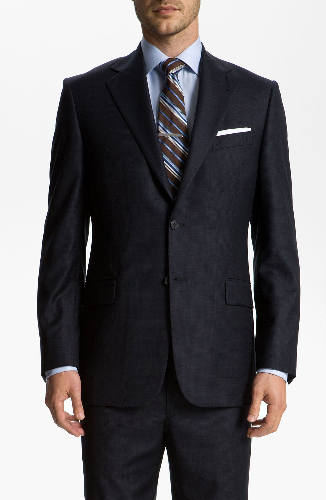 Alternate Image 1 Selected - Joseph Abboud 'Signature Silver' Suit