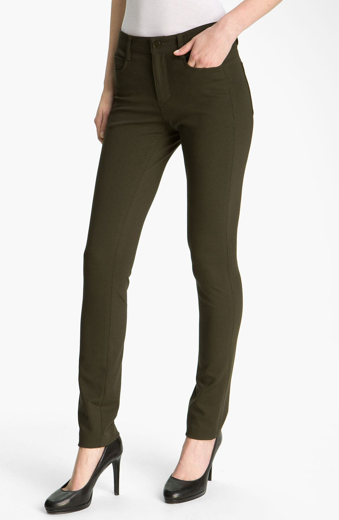 Alternate Image 1 Selected - Vince Straight Leg Ponte Jeans