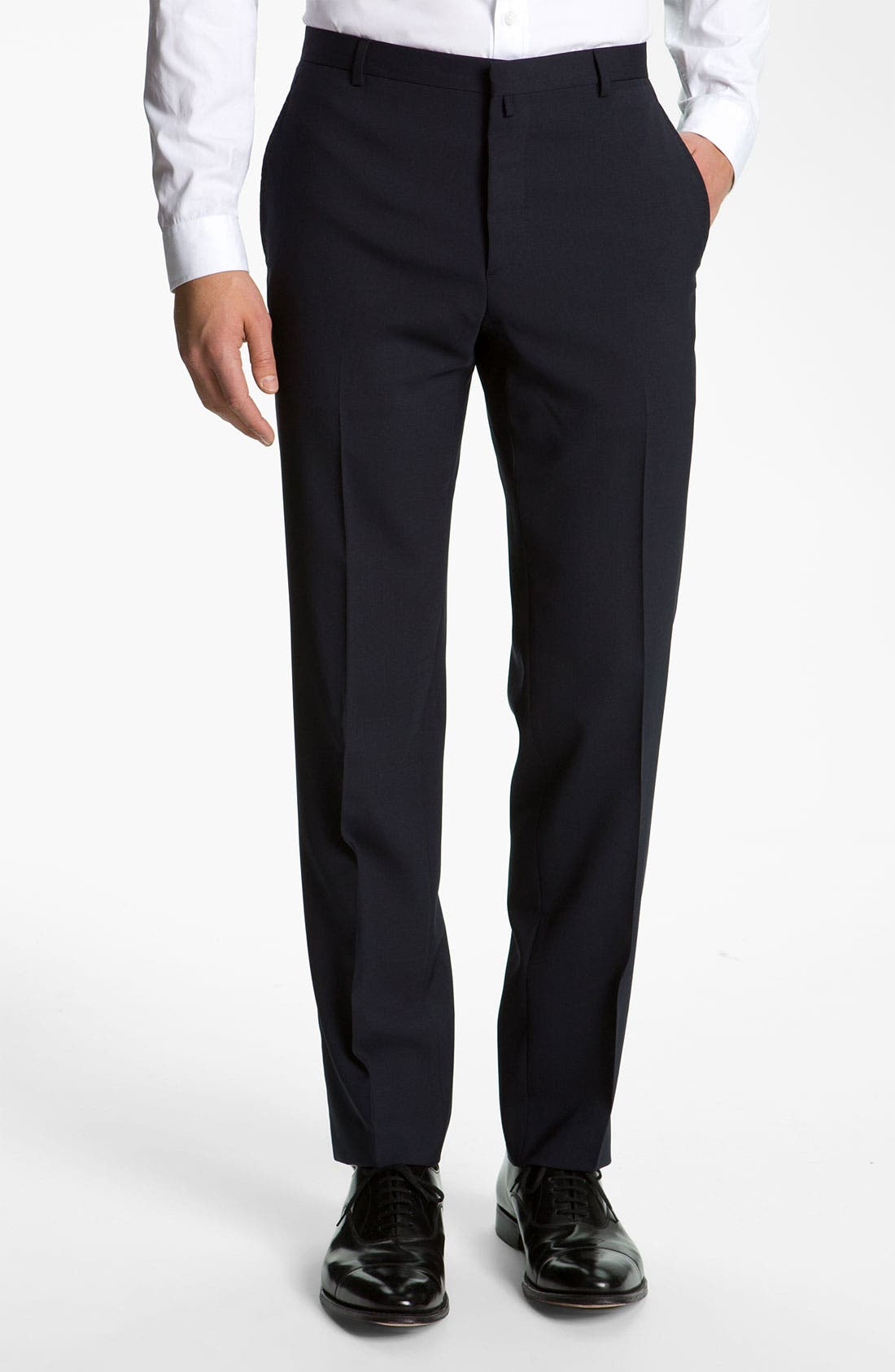 Alternate Image 4  - Jil Sander Stretch Wool Blend Suit