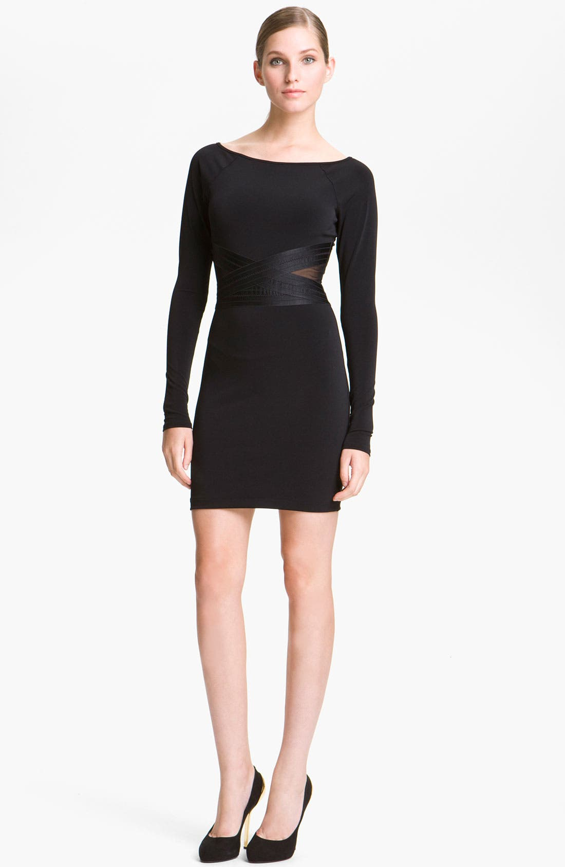 Main Image - Elizabeth and James 'Alexa' Stretch Knit Dress
