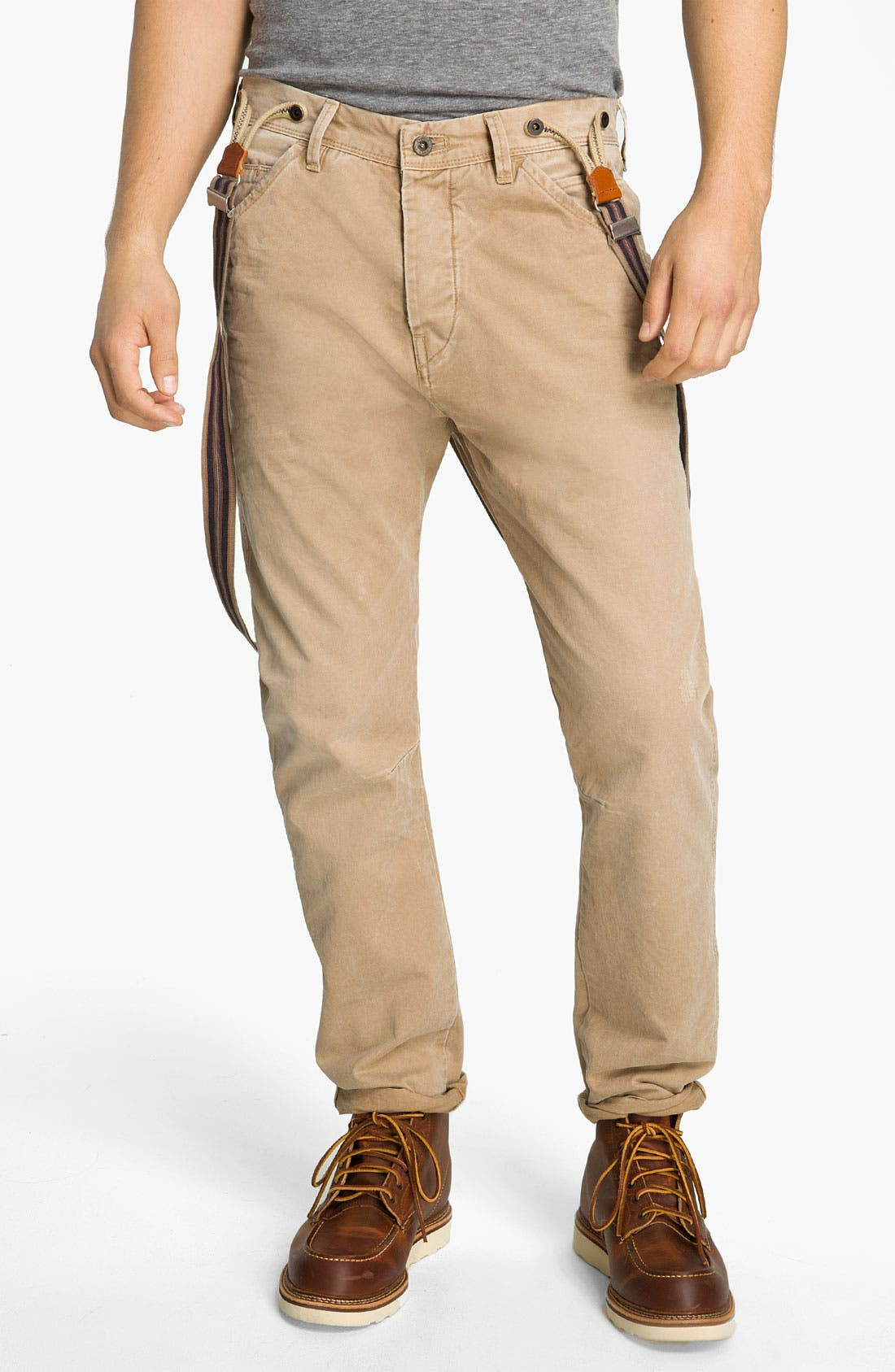 Alternate Image 1 Selected - Scotch & Soda 'Brewer' Slim Tapered Leg Twill Pants