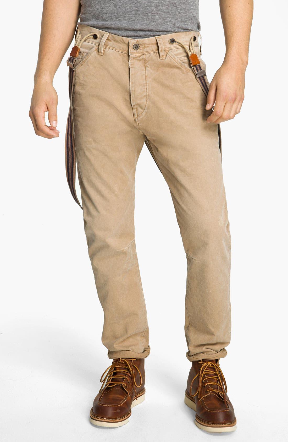 Main Image - Scotch & Soda 'Brewer' Slim Tapered Leg Twill Pants