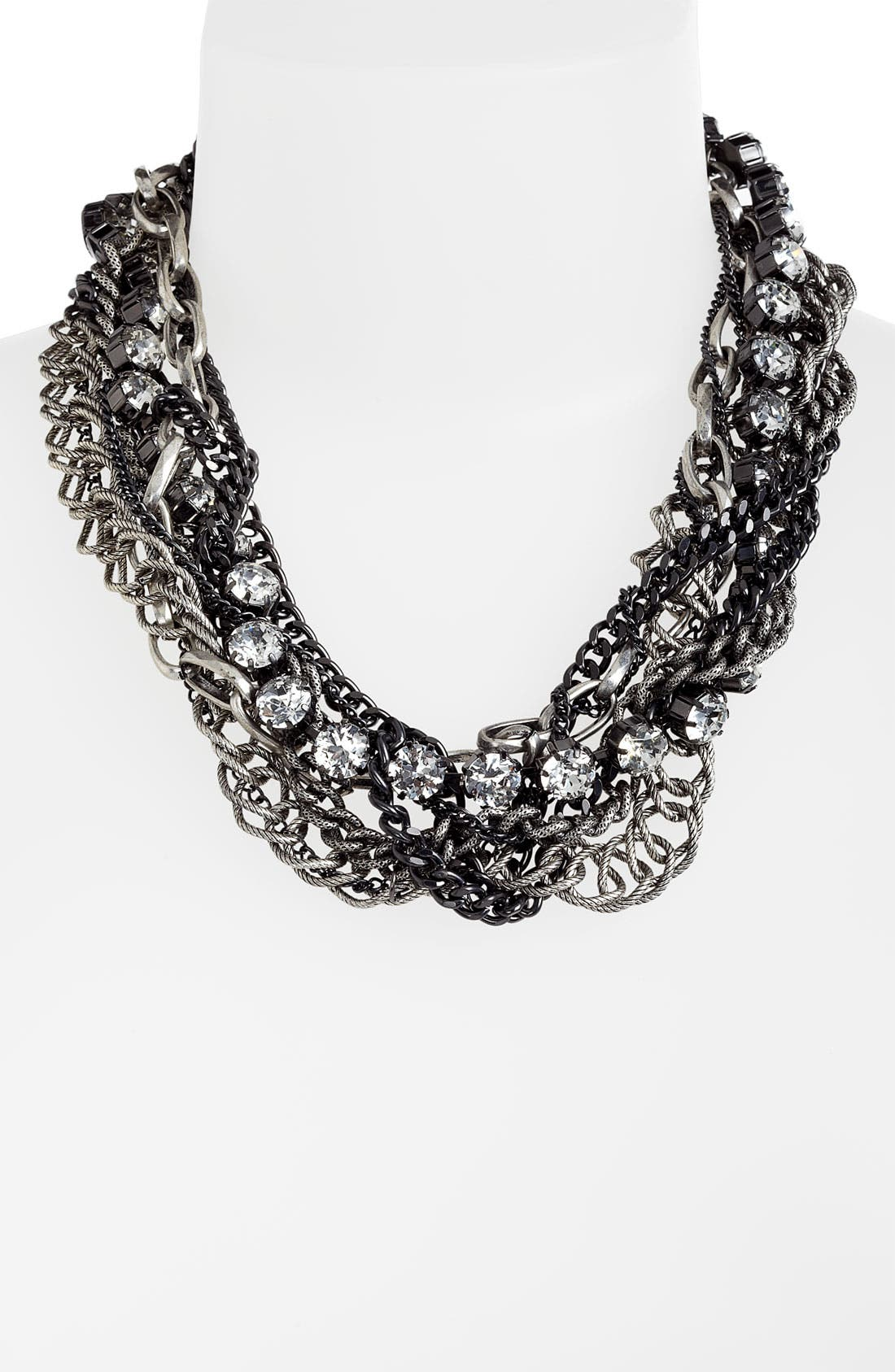 Alternate Image 1 Selected - Natasha Couture Multi Strand Statement Necklace