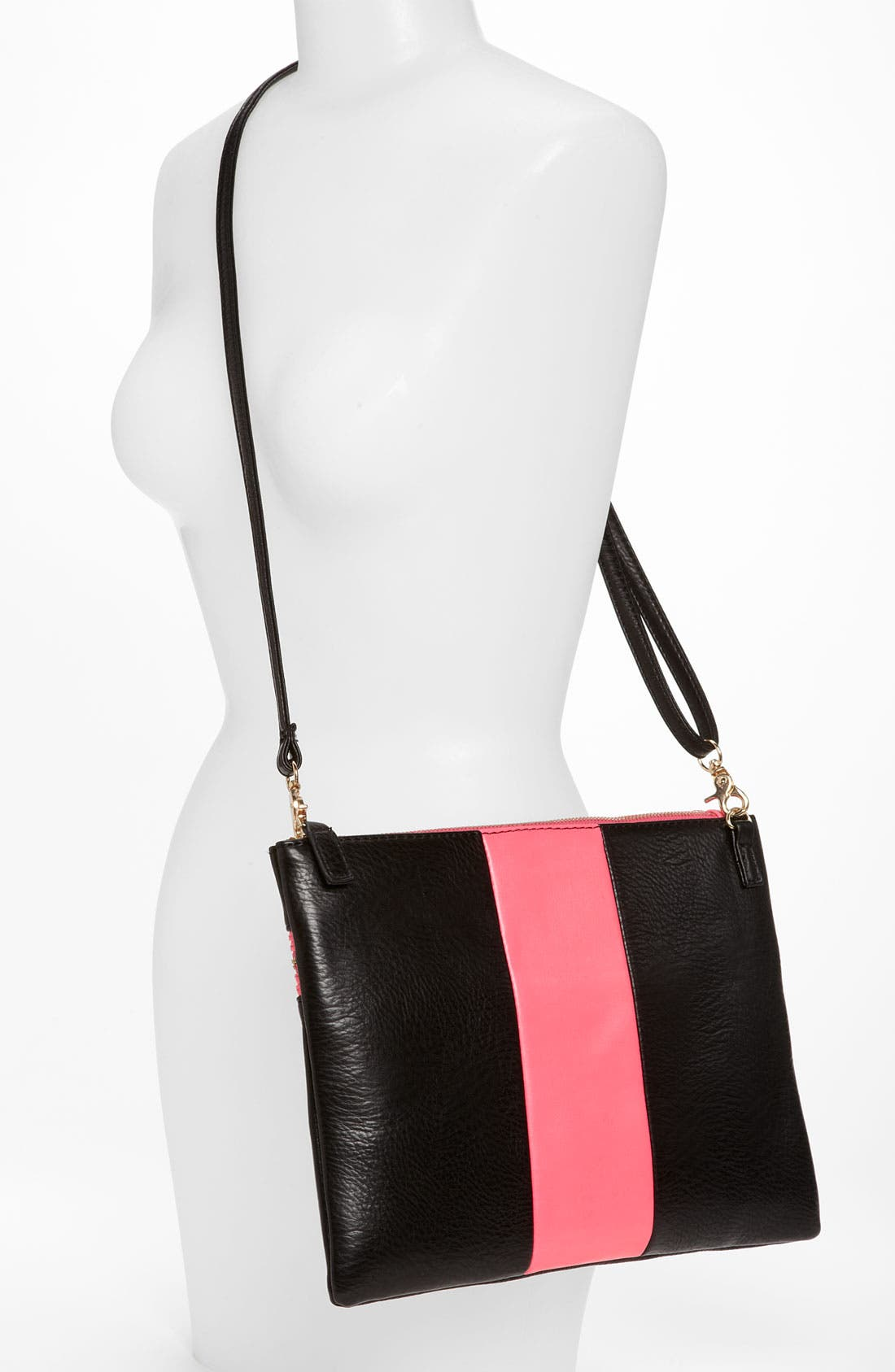 Alternate Image 2  - Street Level Colorblock Convertible Clutch