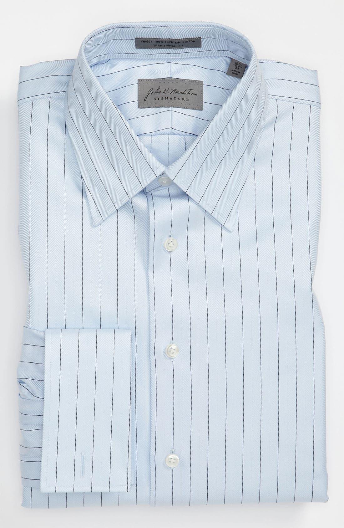 Alternate Image 1 Selected - John W. Nordstrom® Signature Traditional Fit Dress Shirt