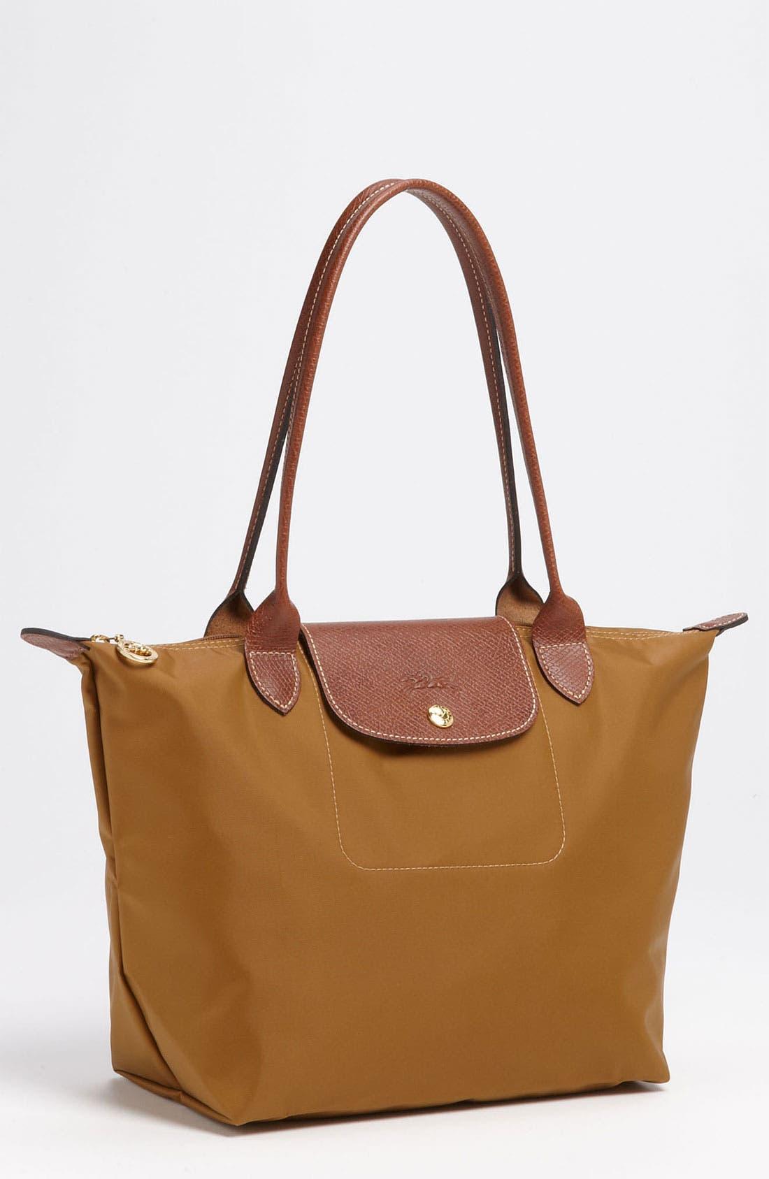 Alternate Image 1 Selected - Longchamp 'Le Pliage - Small Shopping Bag'